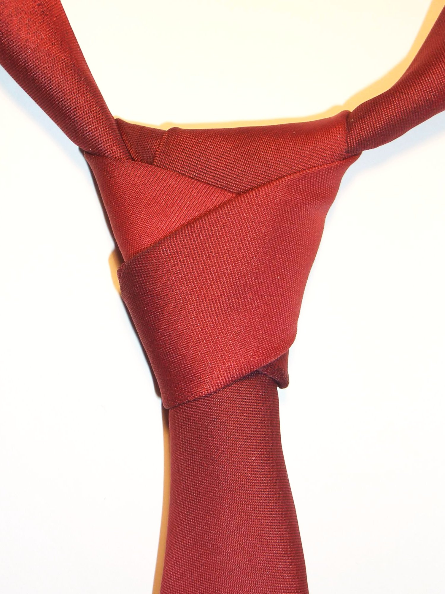 how to make a big knot tie