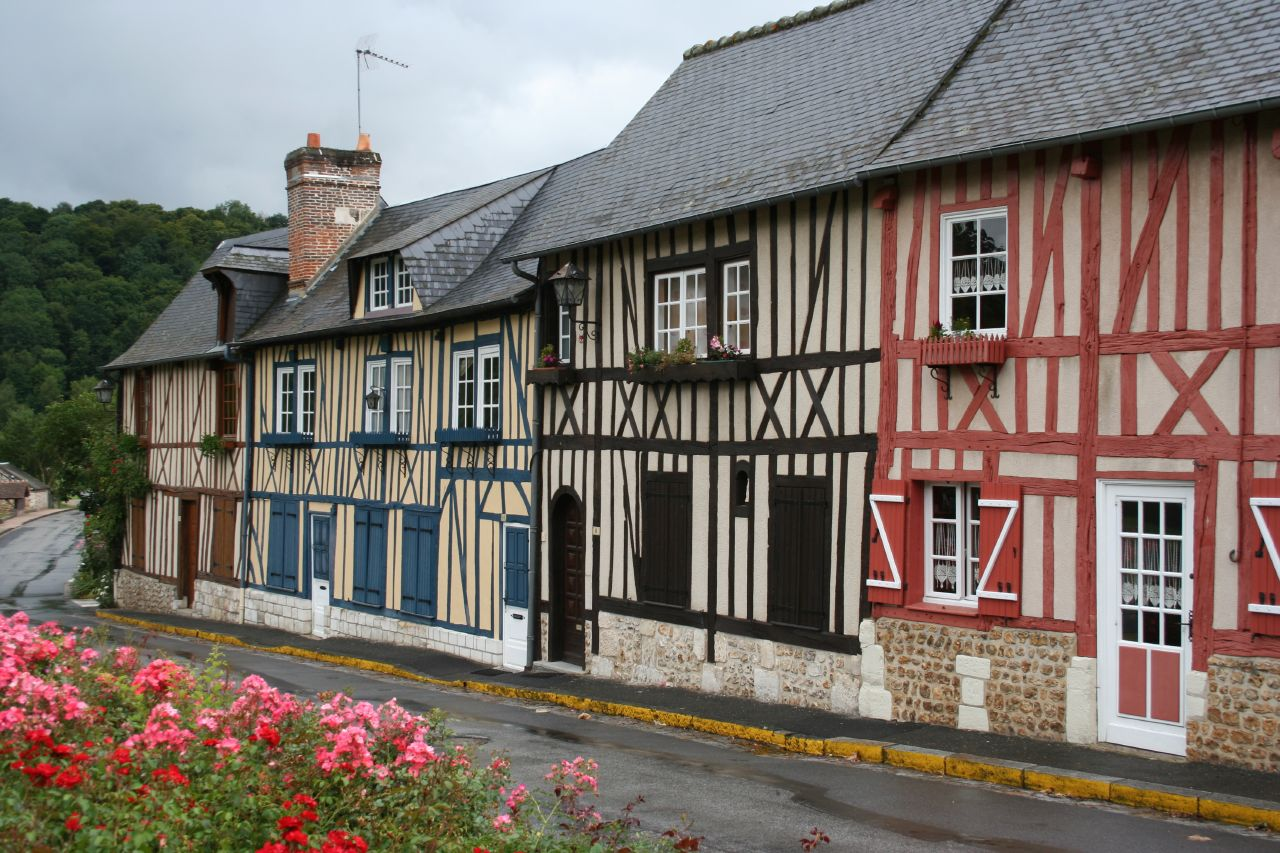 File Normandy Houses Pays D Auge Jpg Wikimedia Commons