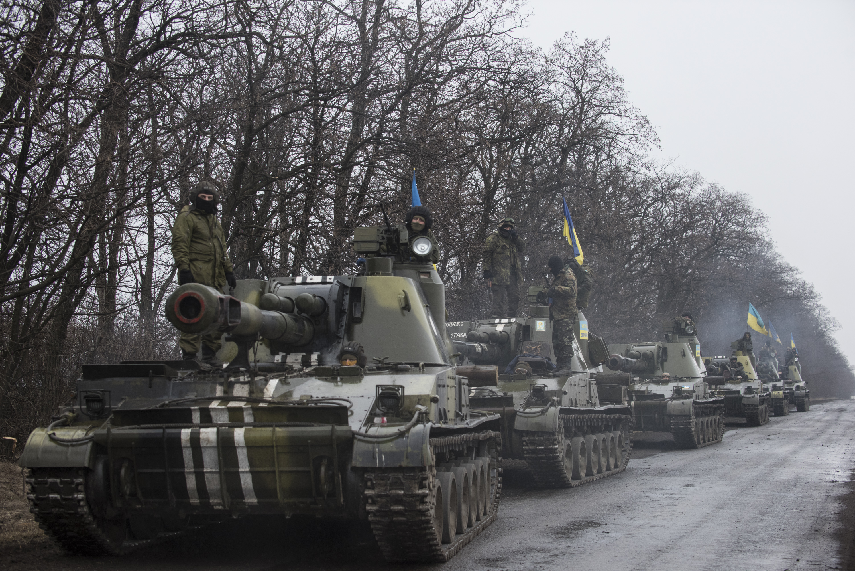 Russian Tanks in Ukraine