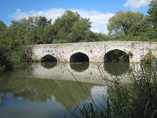 Old Culham Bridge - geograph.org.uk - 940811