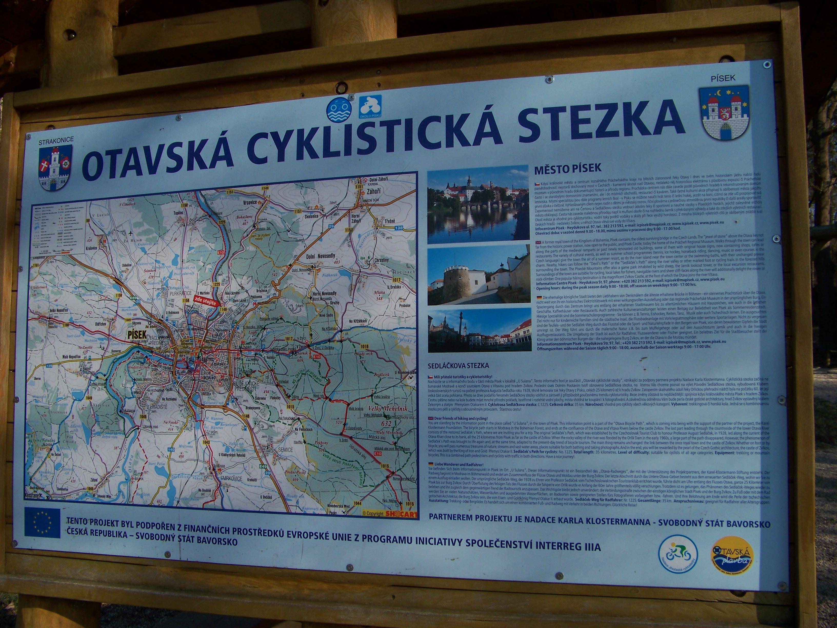 Otavska Cyklostezka Wikipedie