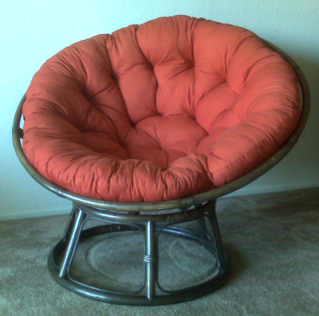 Papasan chair wikipedia for Chair chair chair