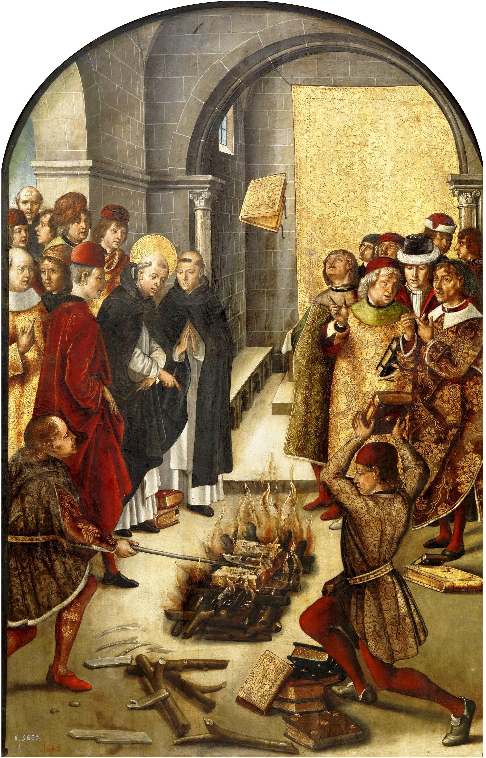 Bildergebnis für Mönche zerstörten klassische werke