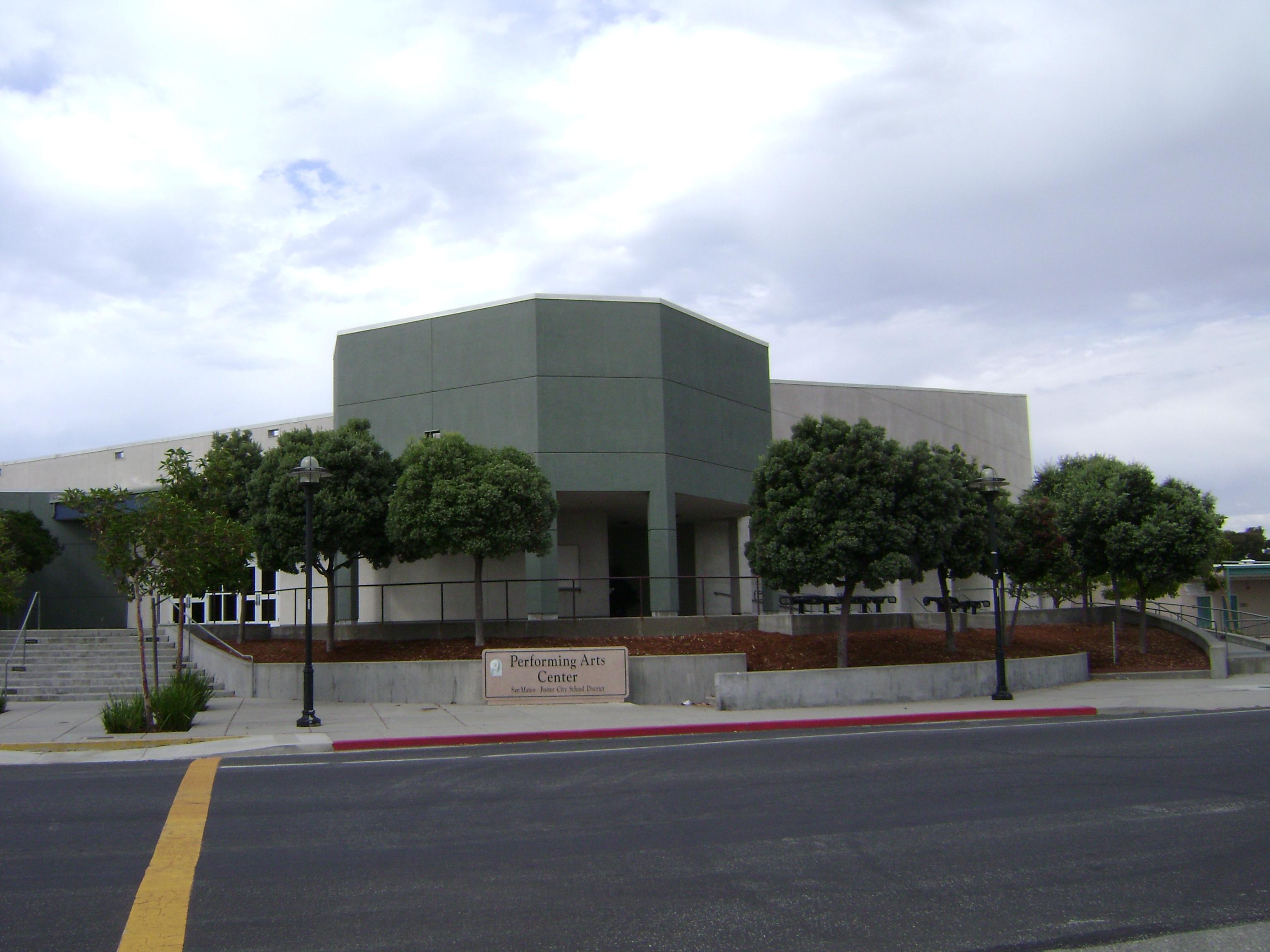 San Mateo Ca >> File:Performing Arts Center, San Mateo Foster City School District.JPG - Wikimedia Commons