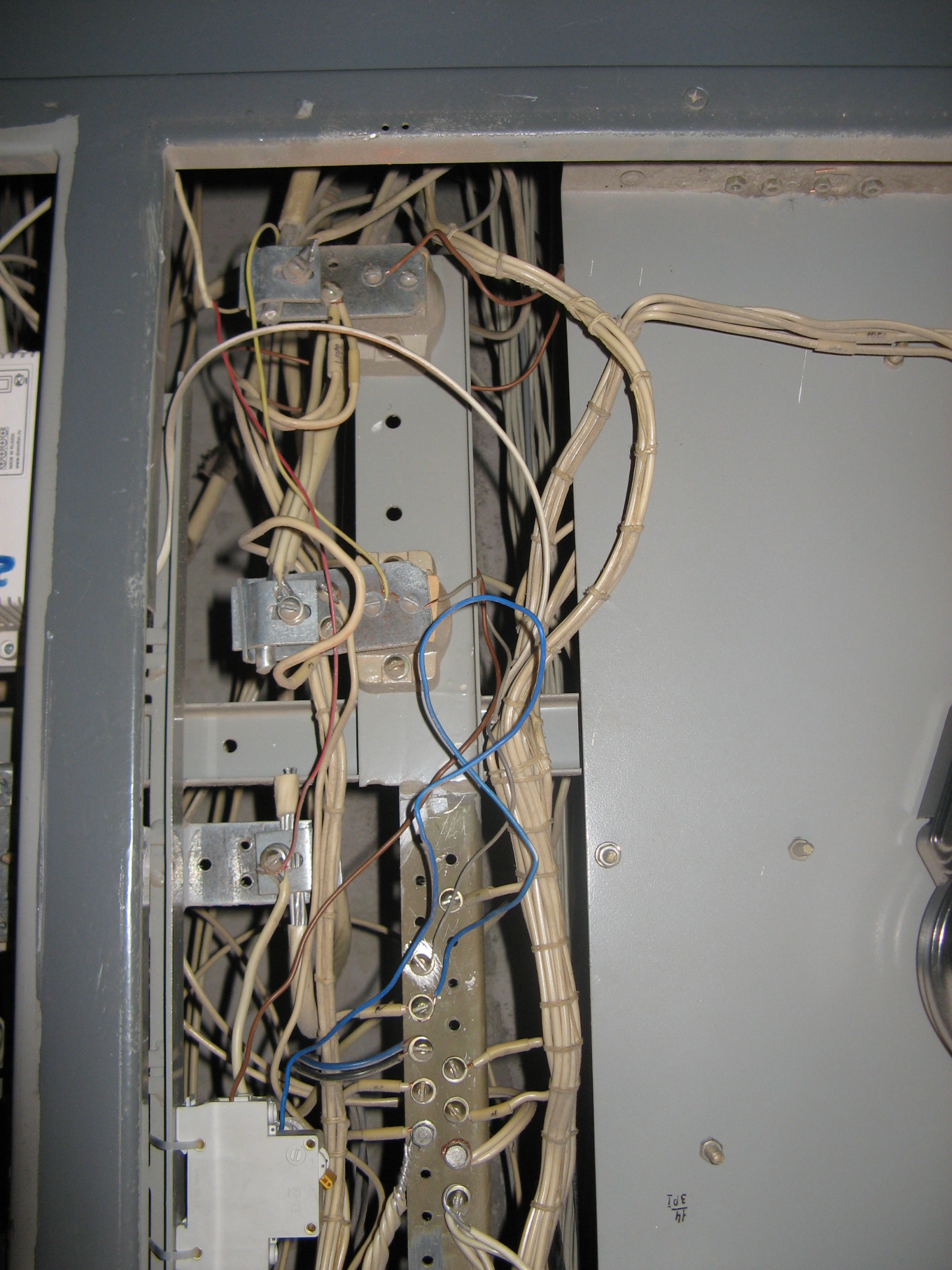Filepersons Without Brian Assembled Tn C In Old Soviet Fuse Box Electrical Boxes Many Years
