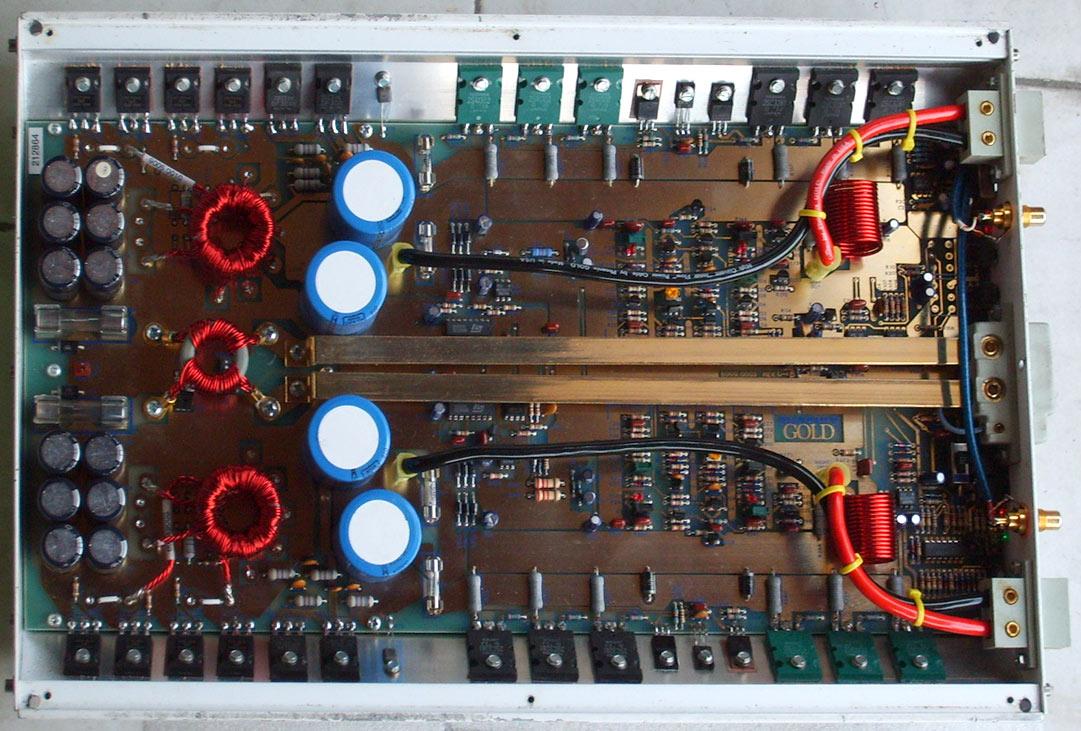 Endstufe Wikipedia Car Power Amplifier Based Tda1562