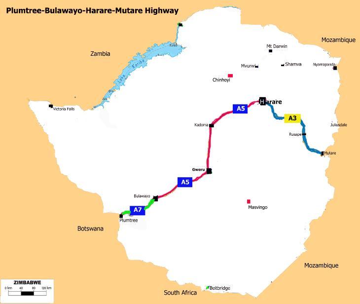 PlumtreeBulawayo HarareMutare Highway Wikipedia