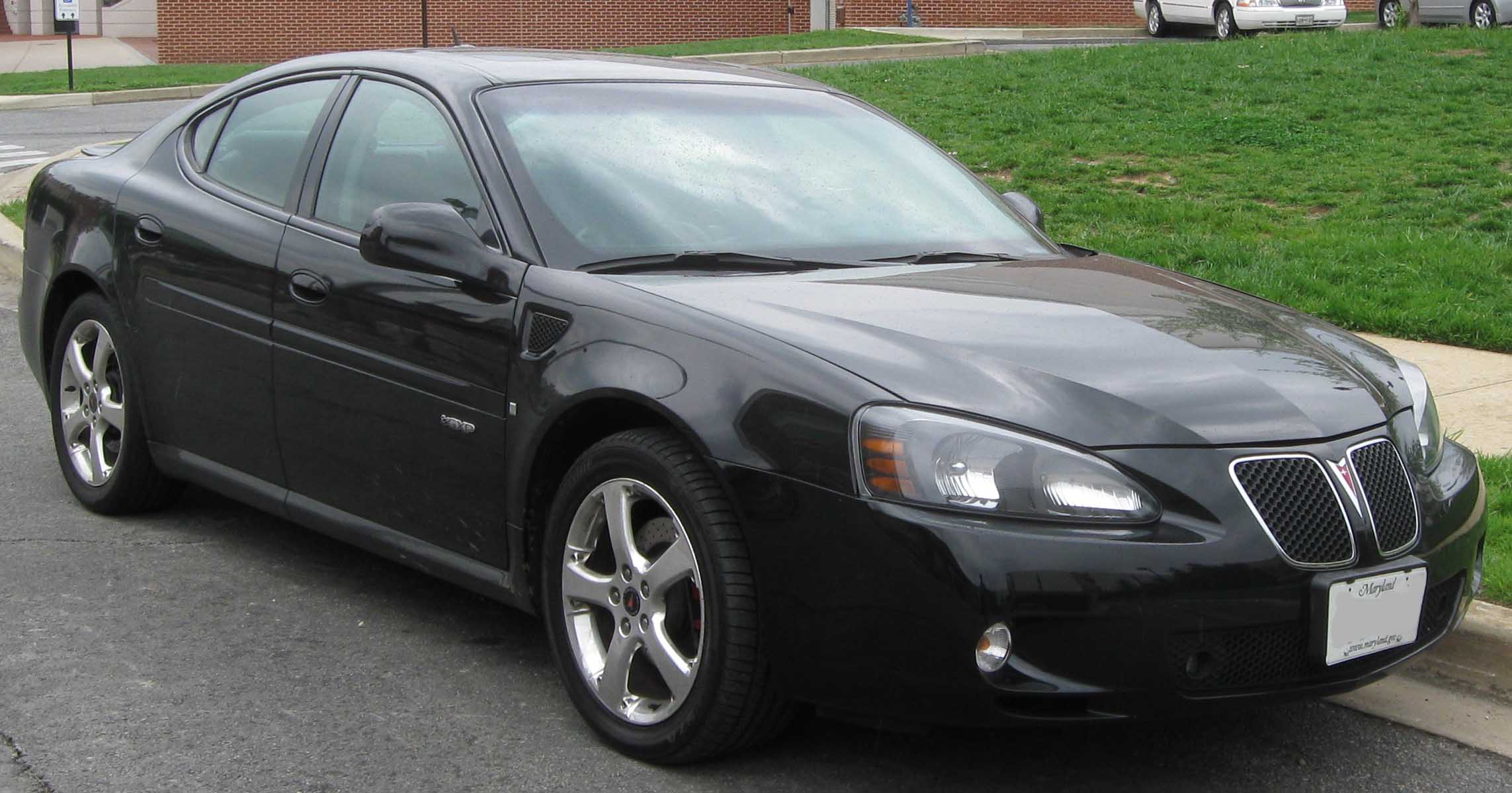 file pontiac grand prix gxp jpg wikimedia commons. Black Bedroom Furniture Sets. Home Design Ideas