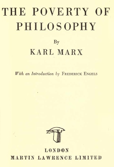 Karl Marx Questions and Answers