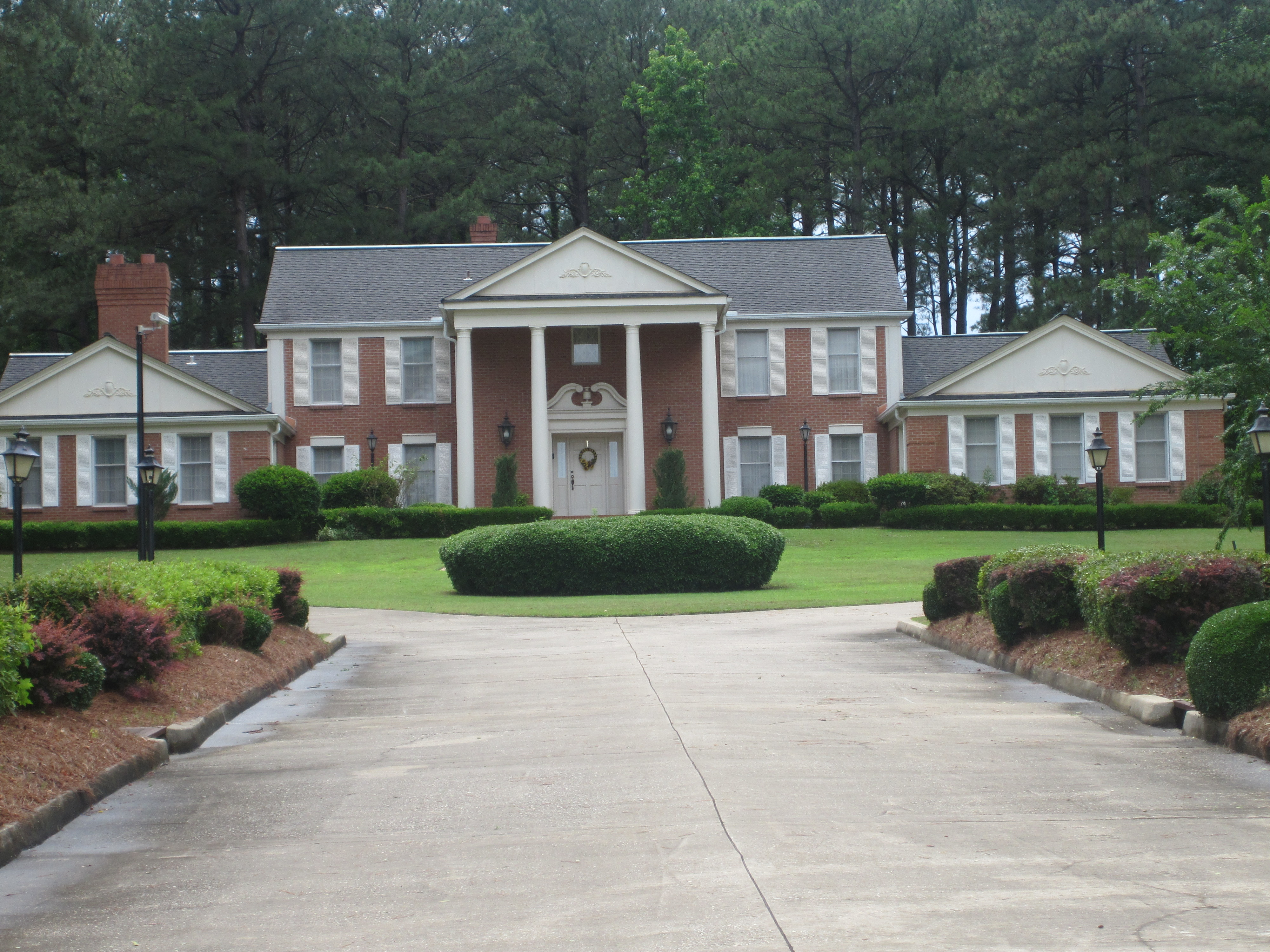 File president 39 s home at grambling state univ img 3674 for Presidents and their home states