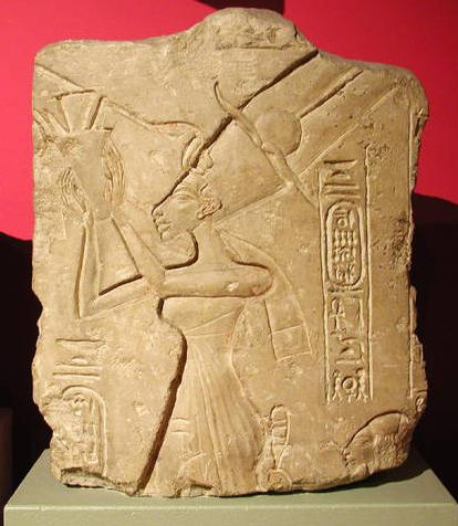 File:Queen Nefertiti, Limestone relief.jpg