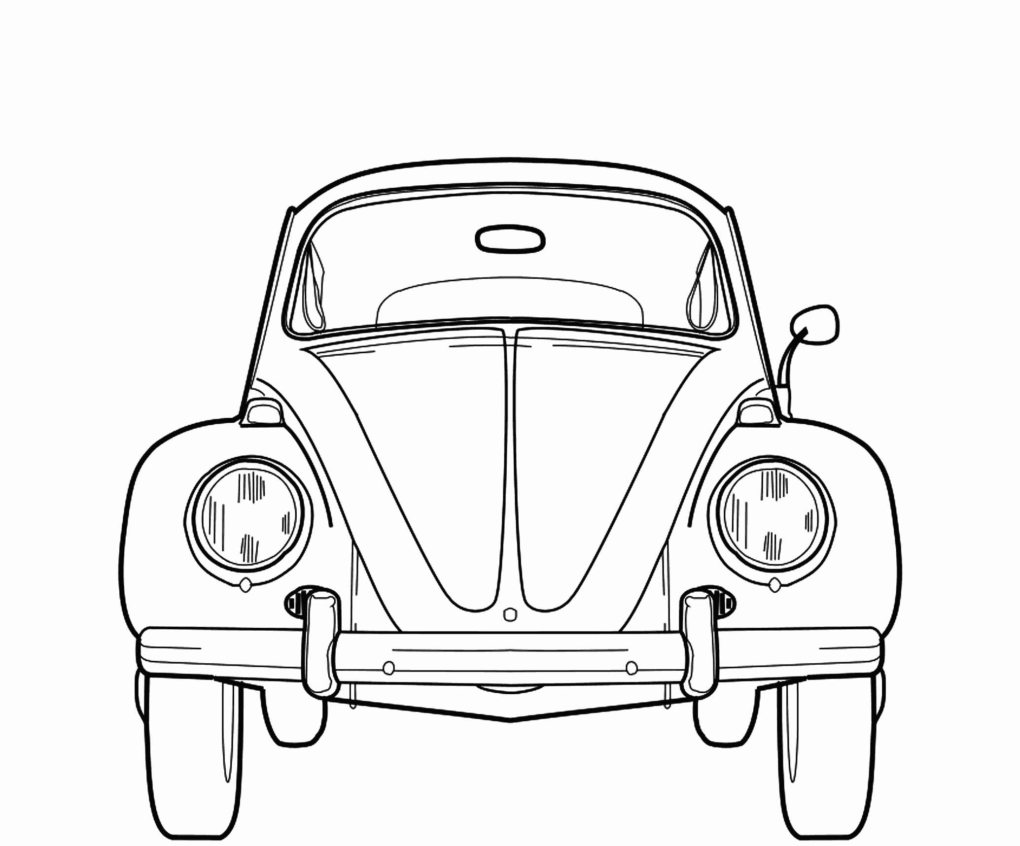 Image Result For Vw Bus Coloring