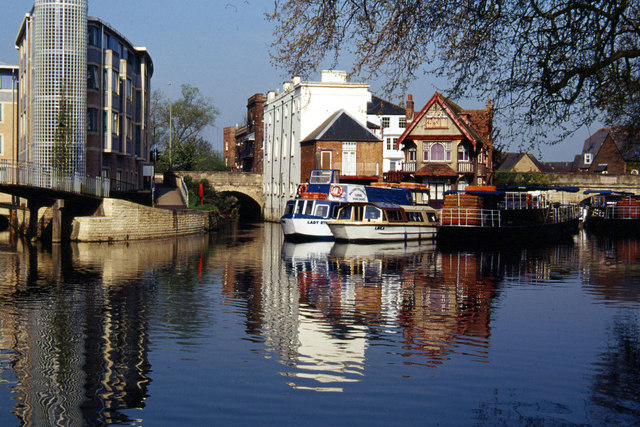 River Isis (Thames), Oxford - geograph.org.uk - 164888