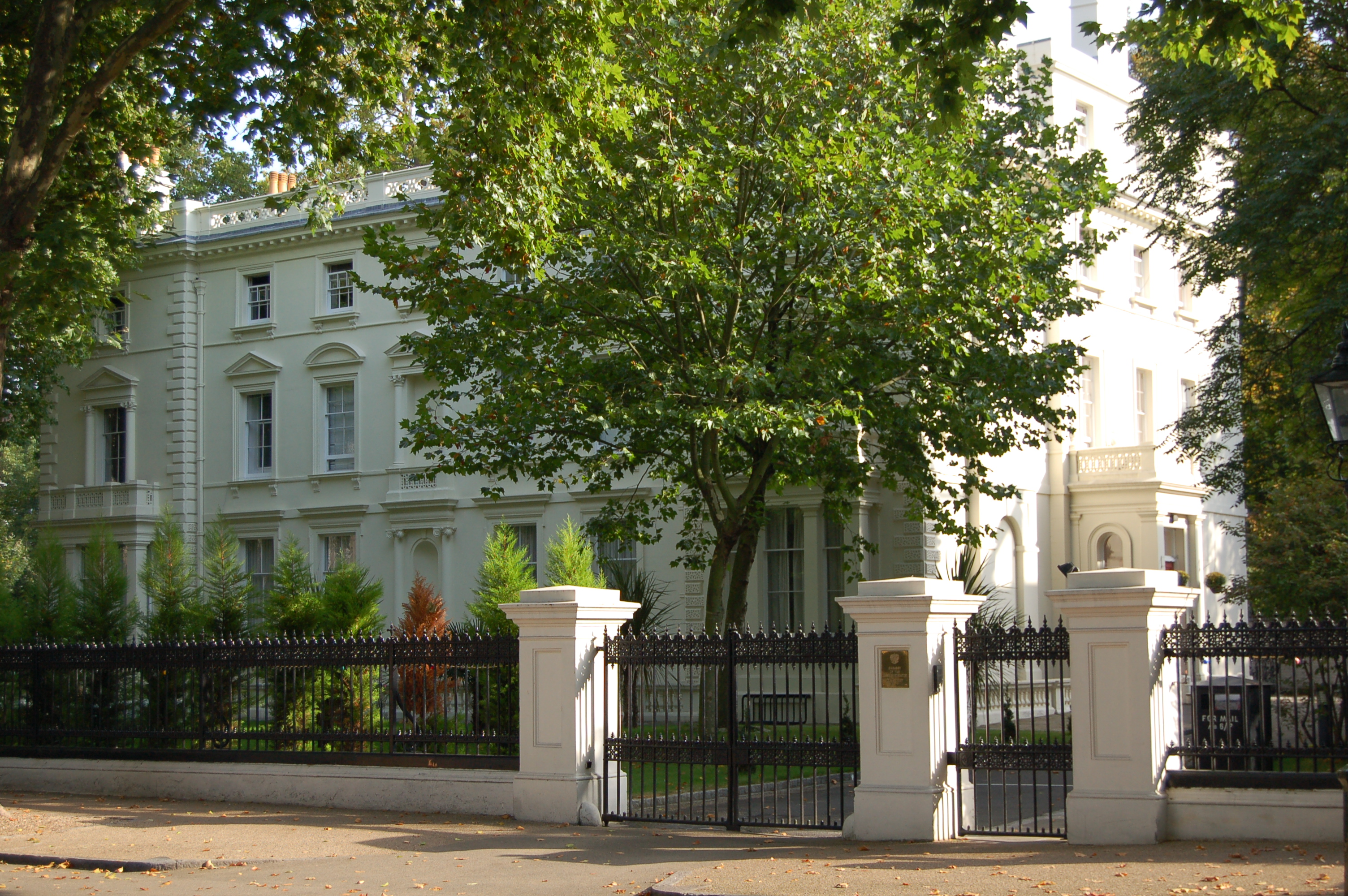 Image result for Kensington Palace Gardens, London, UK