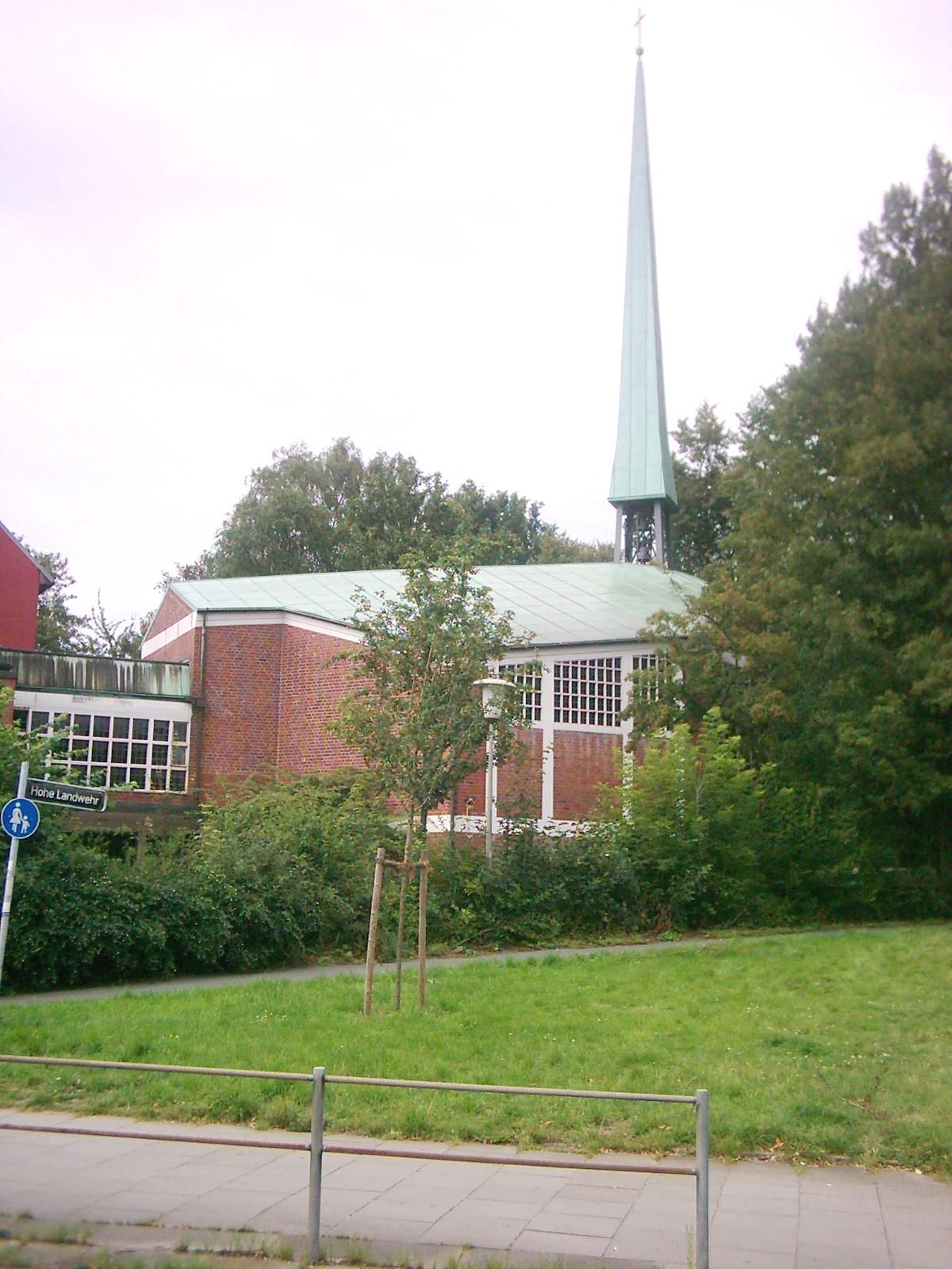Hamburg Hammer Kirche