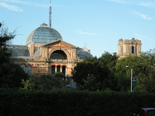 South West End of Alexandra Palace. - geograph.org.uk - 29695