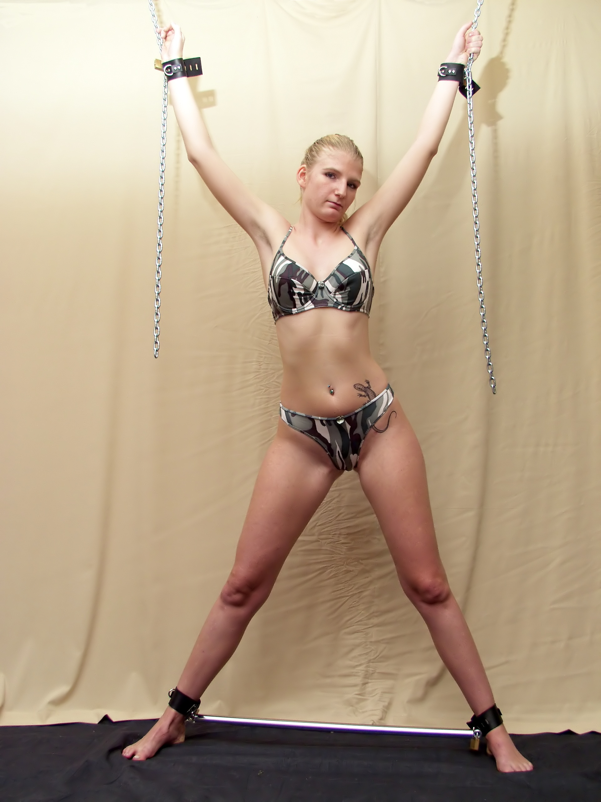 from Hunter nude bondage free pic
