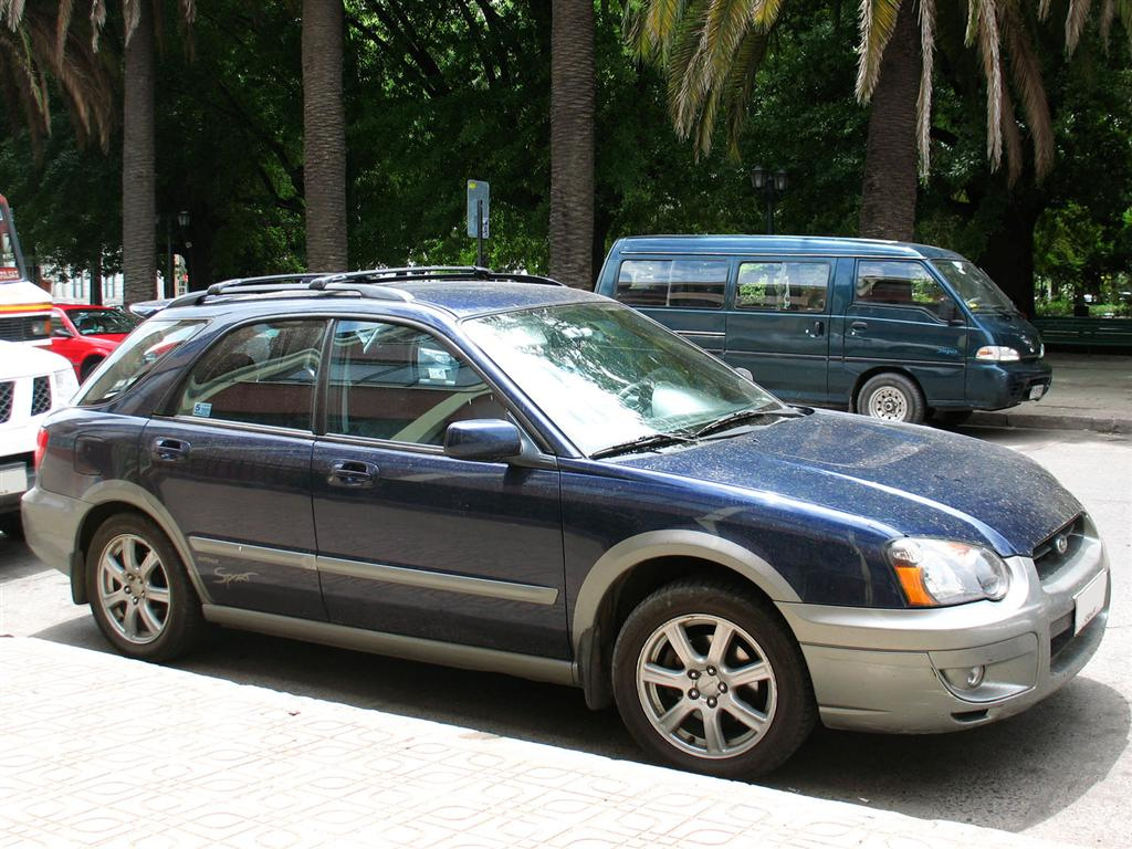 File Subaru Impreza Outback Sport 2005 Jpg Wikimedia Commons