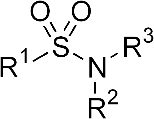sulfonamide (medicine) - wikipedia, Skeleton