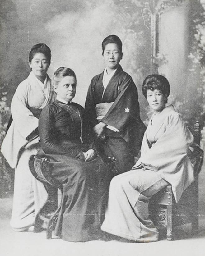 Sutematsu, Alice, Ukeko, Shigeko