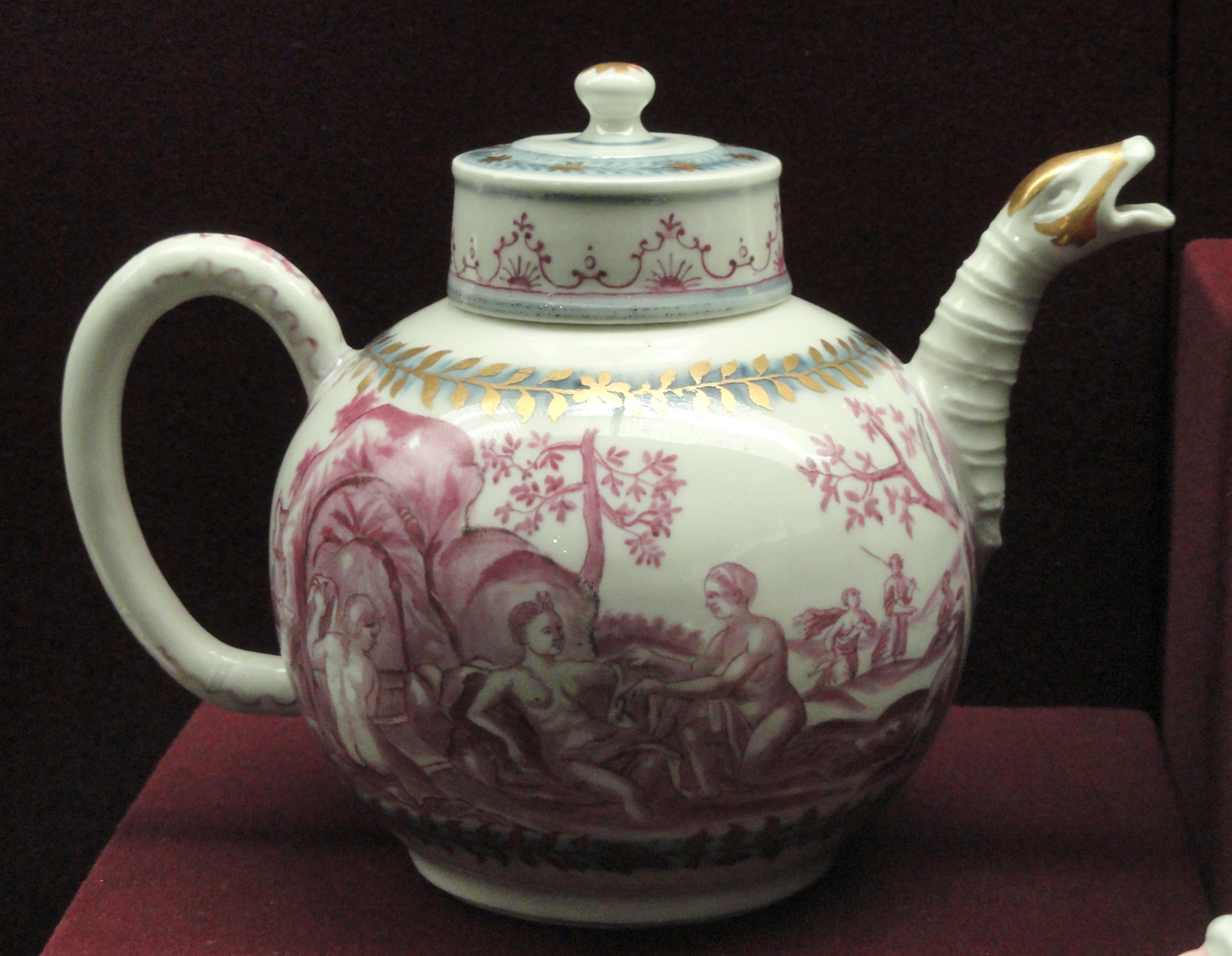 Vintage Porcelain Enamel Top Kitchen Table