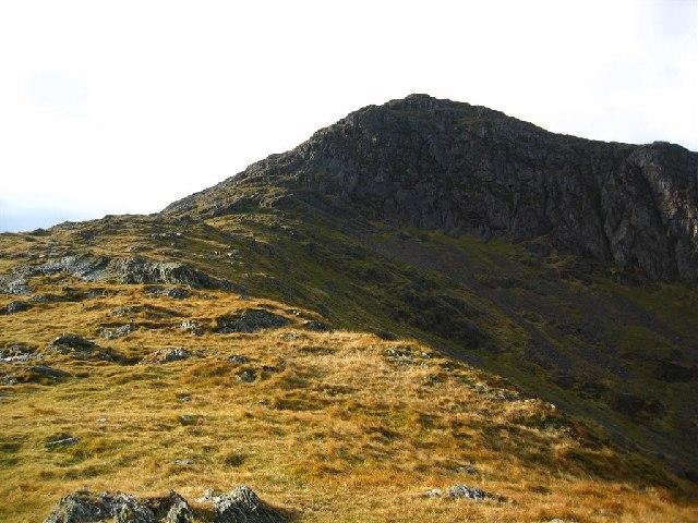 The North East Ridge onto Moel Hebog - geograph.org.uk - 72462