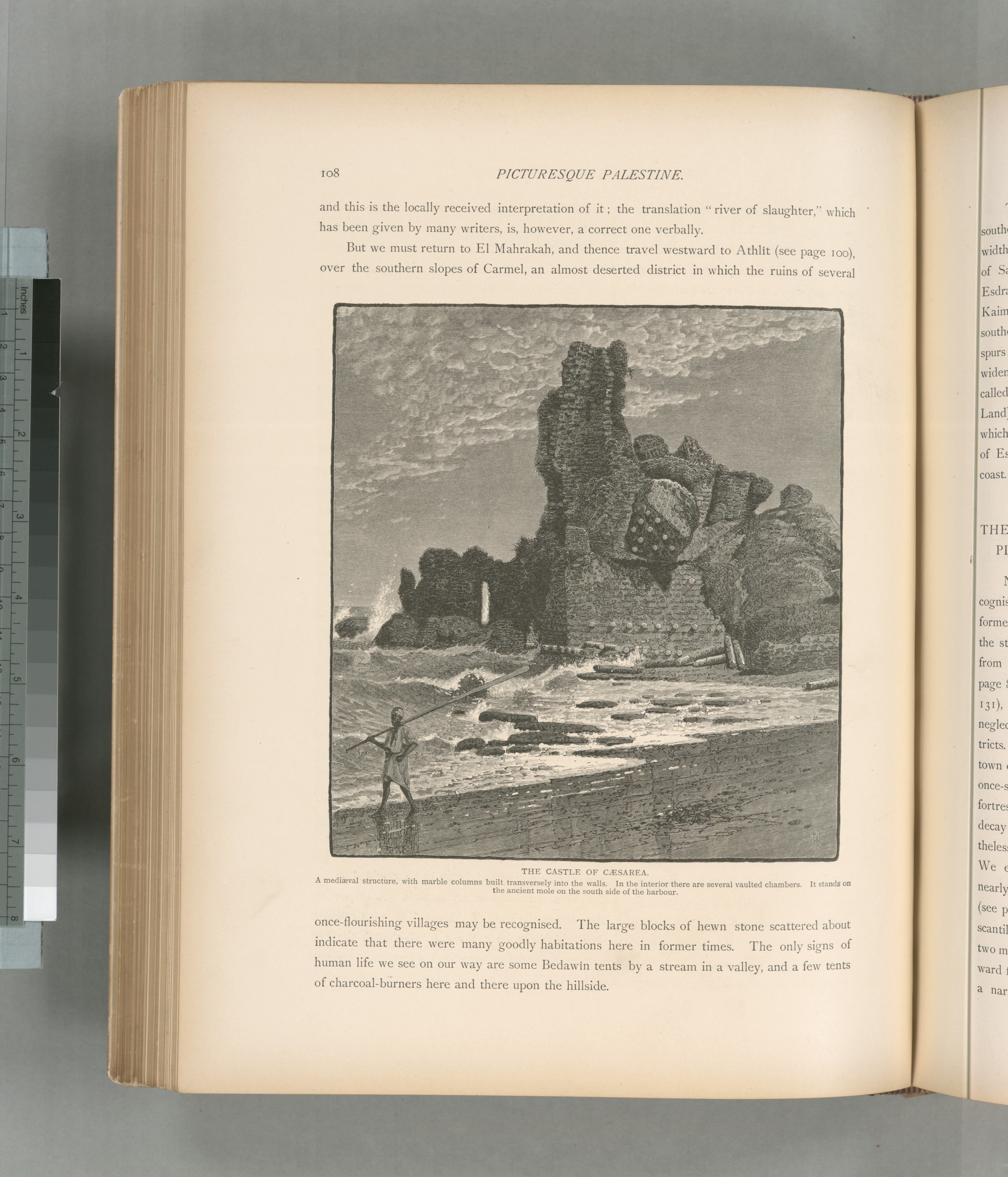 the_castle_of_caesarea_a_medieval_structure_with_marble_columns_built_transversely_into_the_walls_in_the_interior_there_are_several_vaulted_chambers