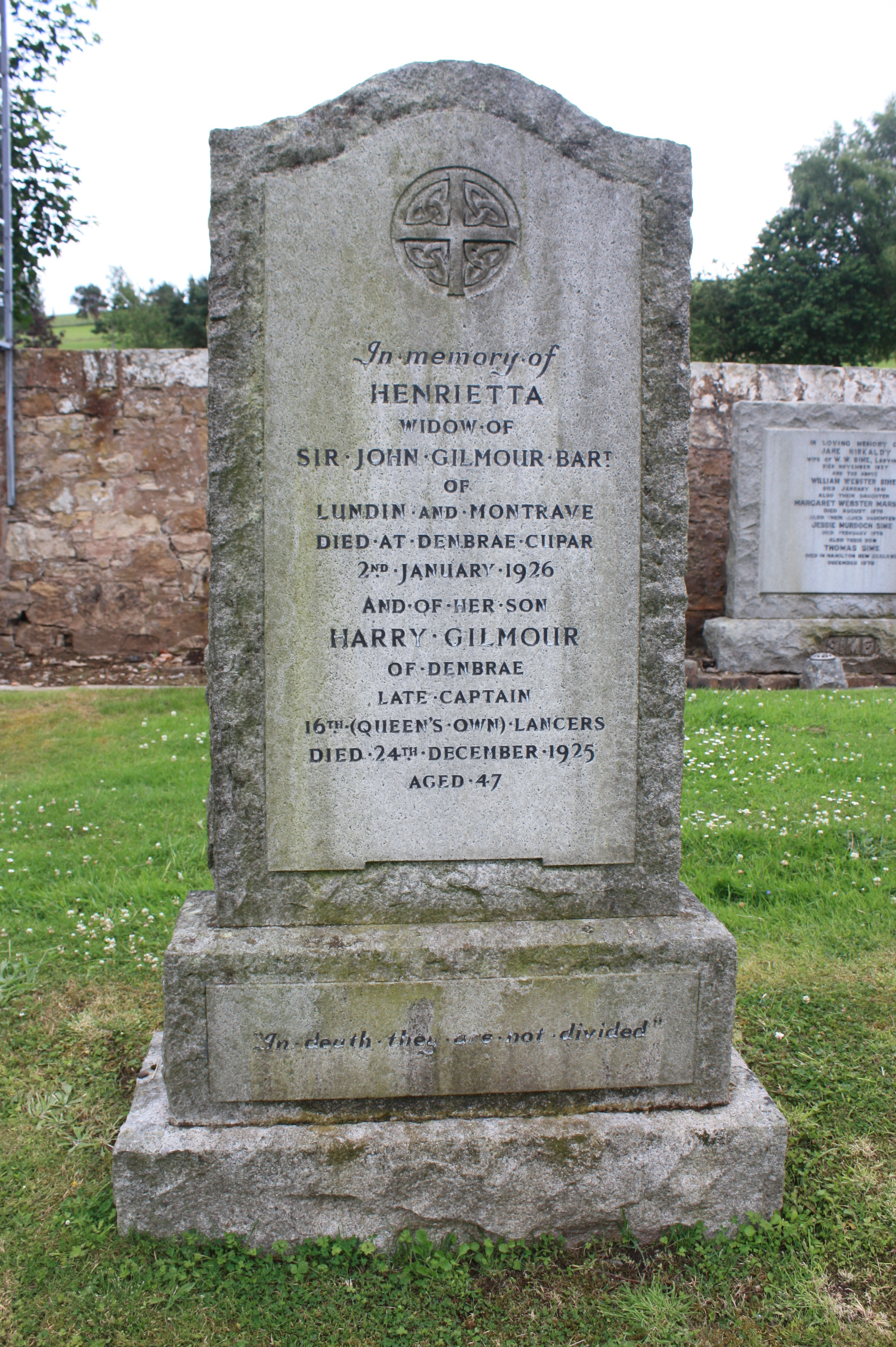 Cupar Cemetery in Cupar, Fife - Find A Grave Cemetery
