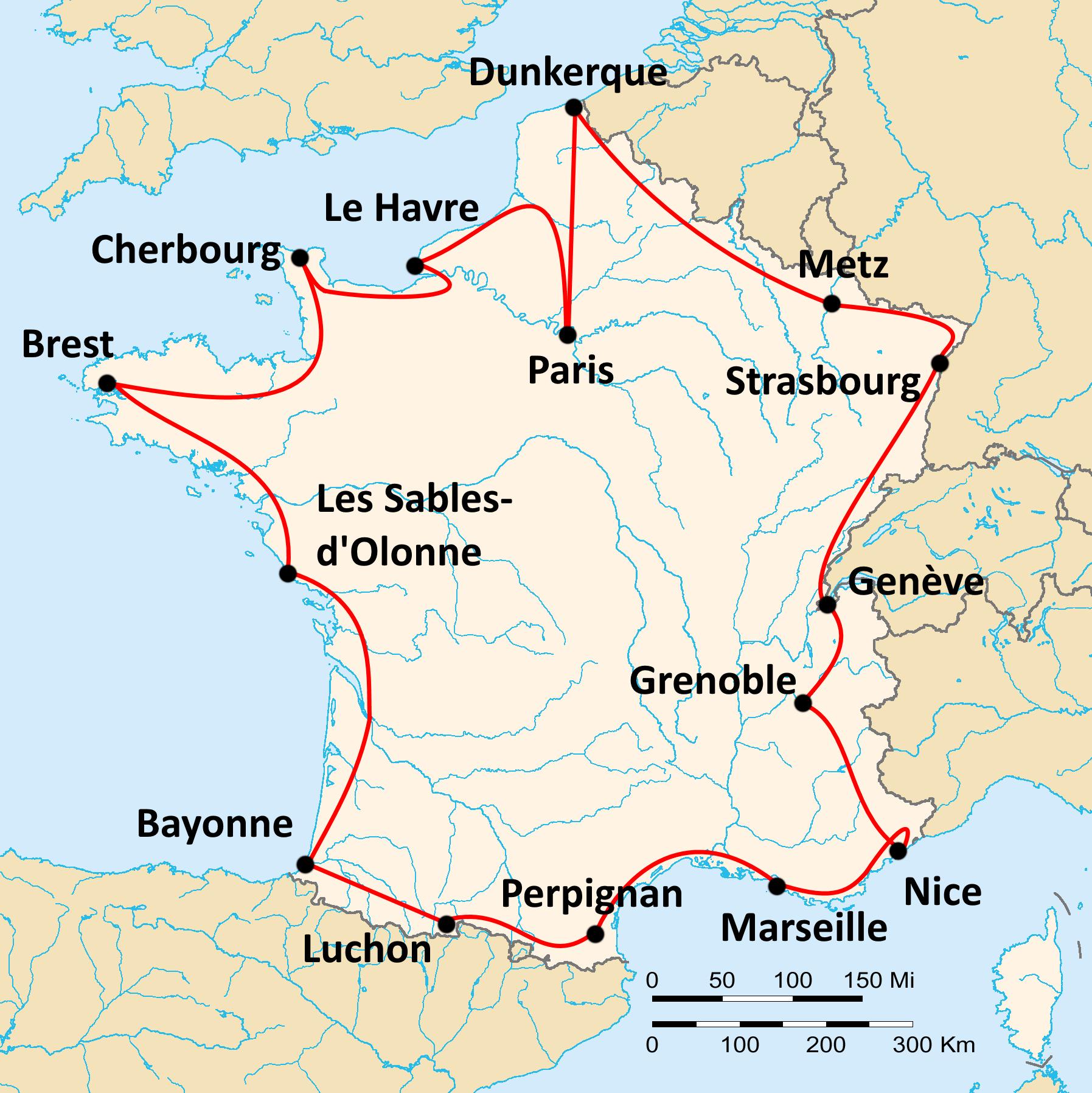 Tour De France De 1919 Wikipedia A Enciclopedia Livre