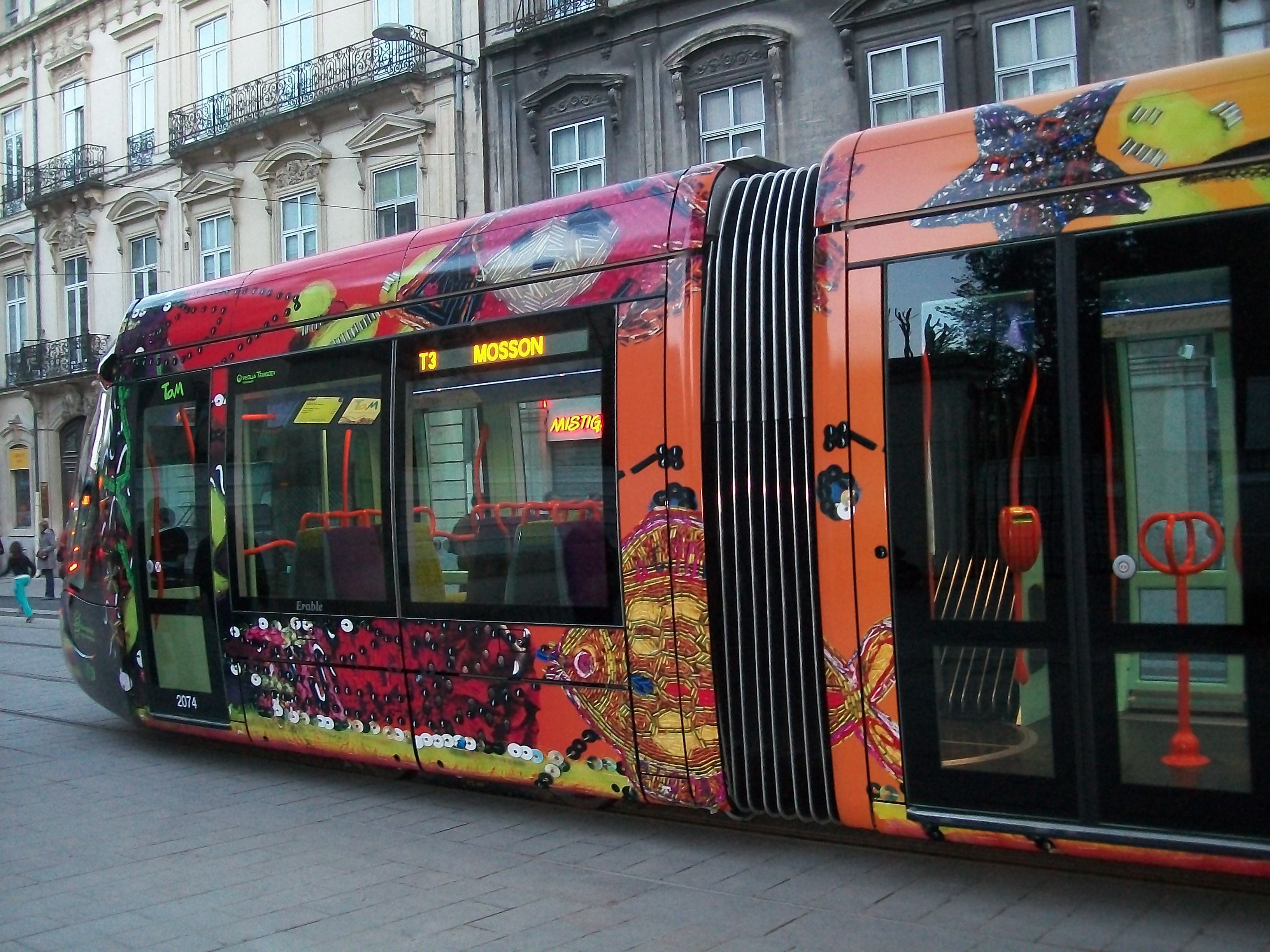 file tramway montpellier ligne 3 jpg wikimedia commons. Black Bedroom Furniture Sets. Home Design Ideas