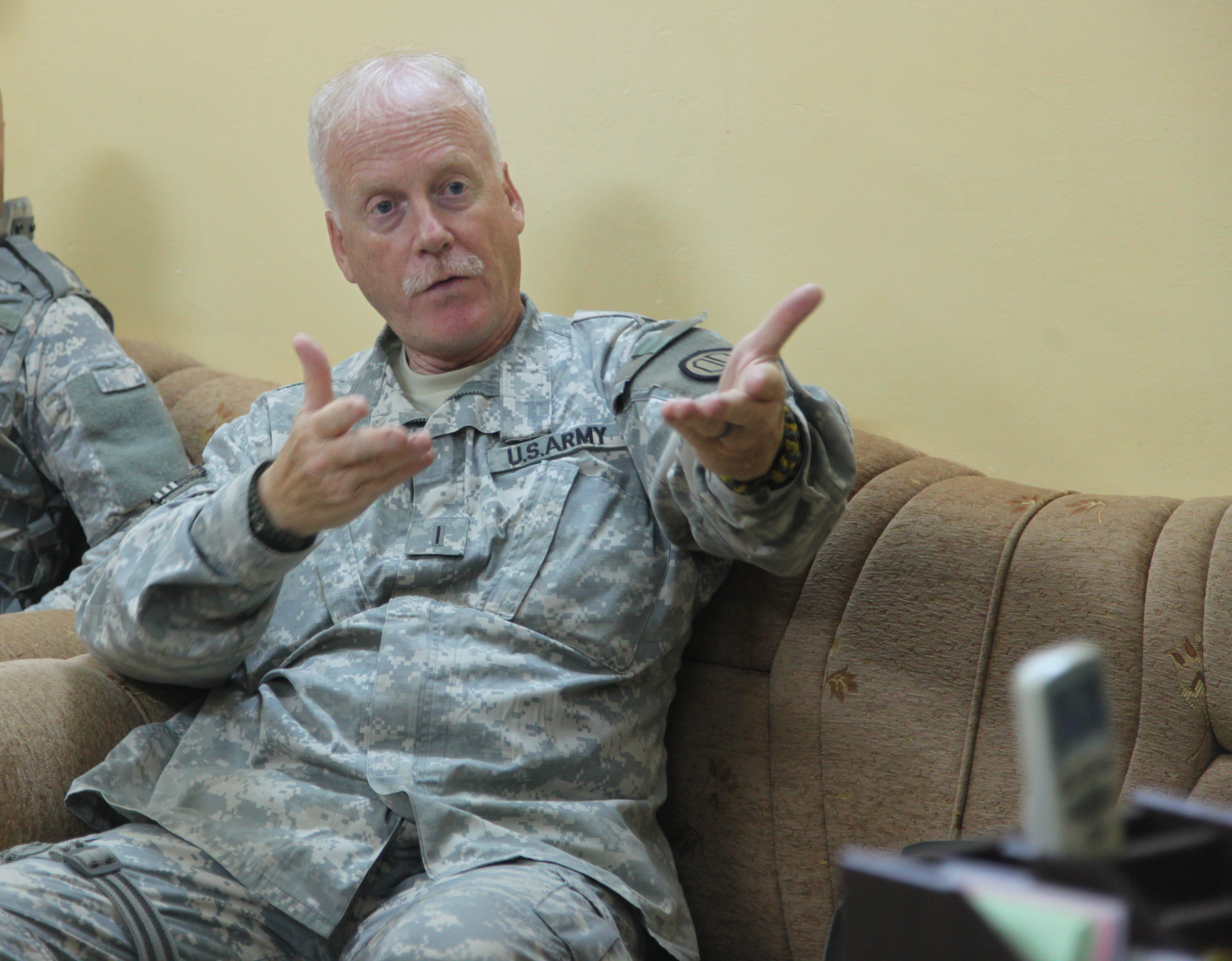 U.S. Army Chief Warrant Officer 5 Paul Holton with the Utah ...