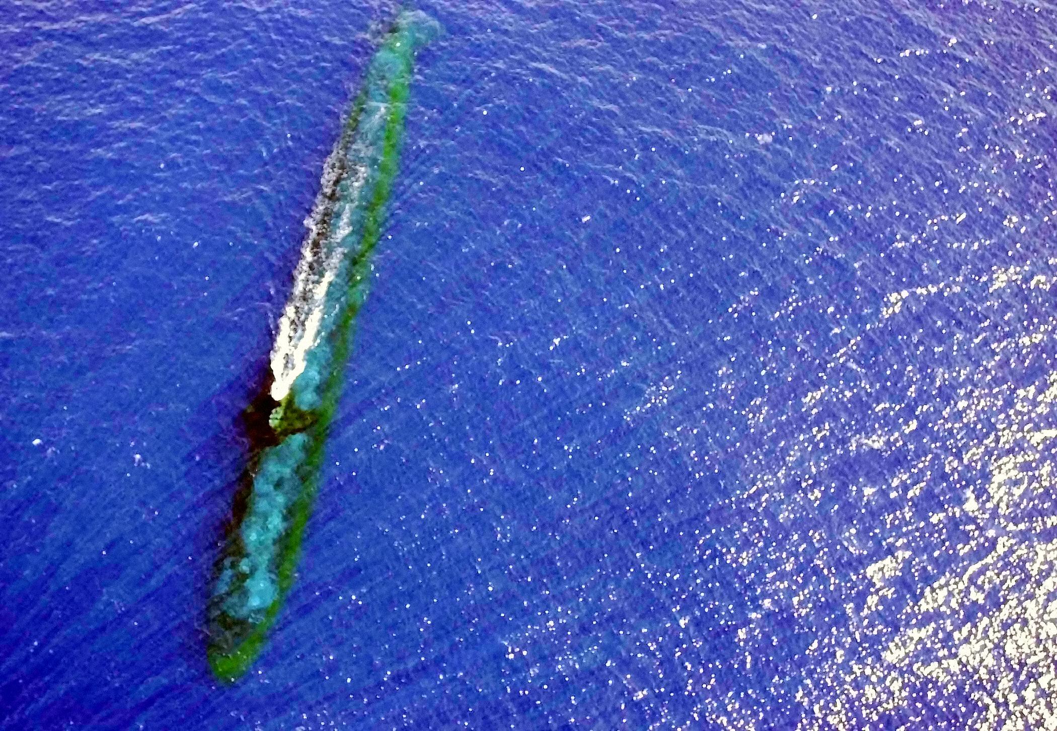 USS Chicago (SSN-721) auf Periskoptiefe