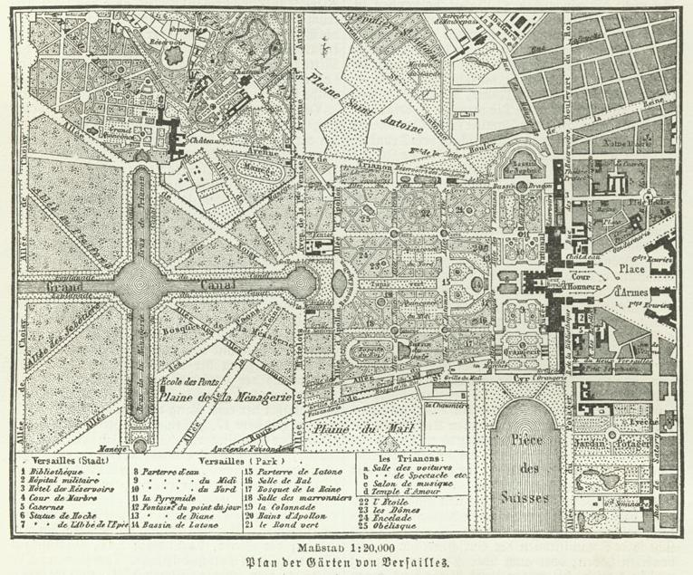 Jardin de versailles wikip dia for Histoire des jardins wikipedia