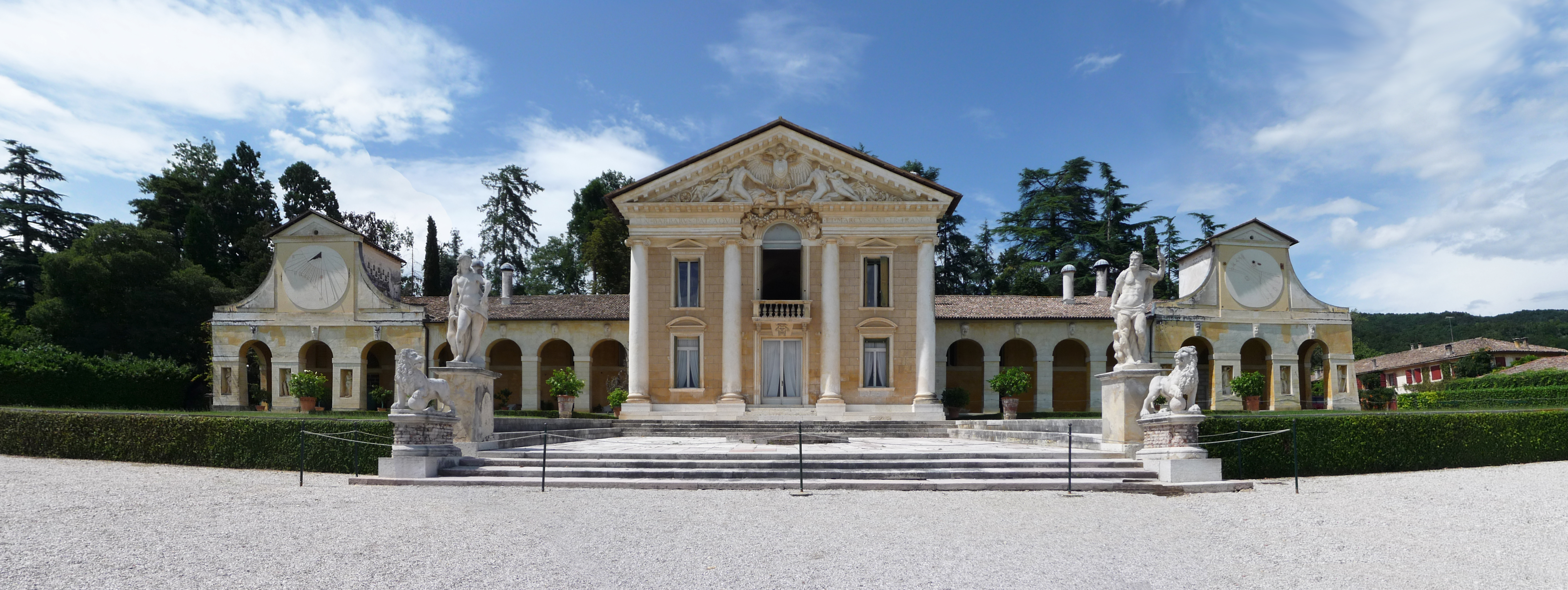 Description Villa Barbaro panoramica fronte Marcok.jpg