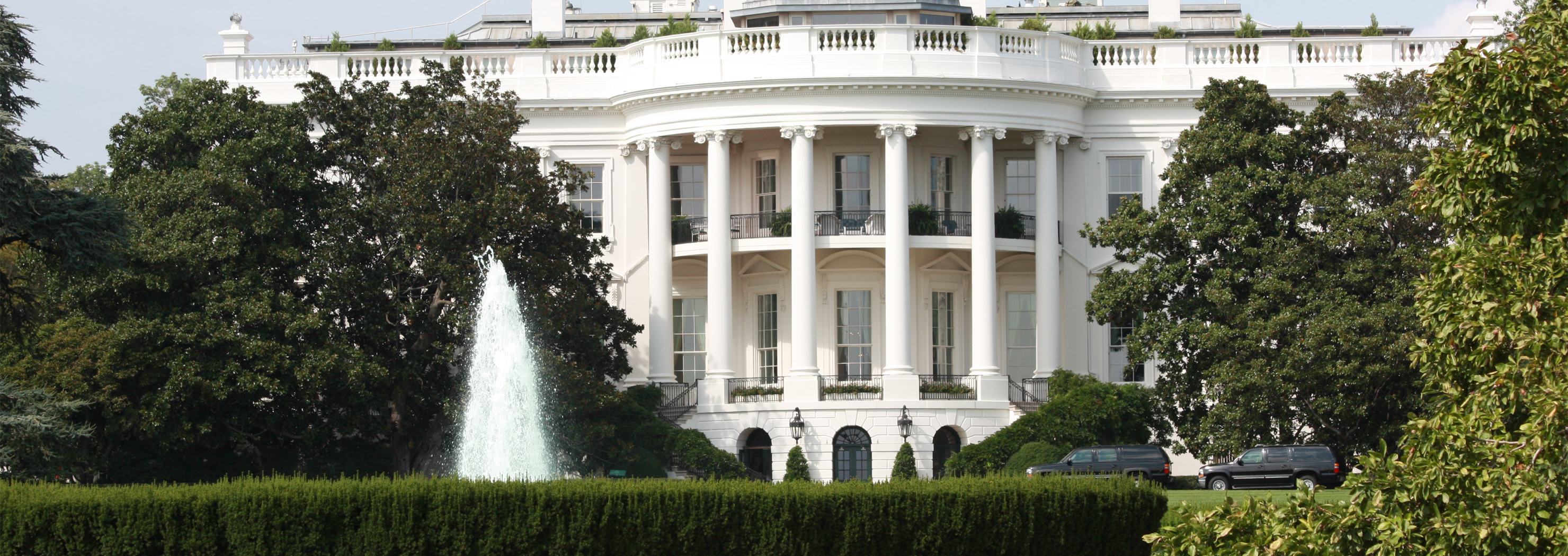 FileWhite House Washington DC Summer panoramiog