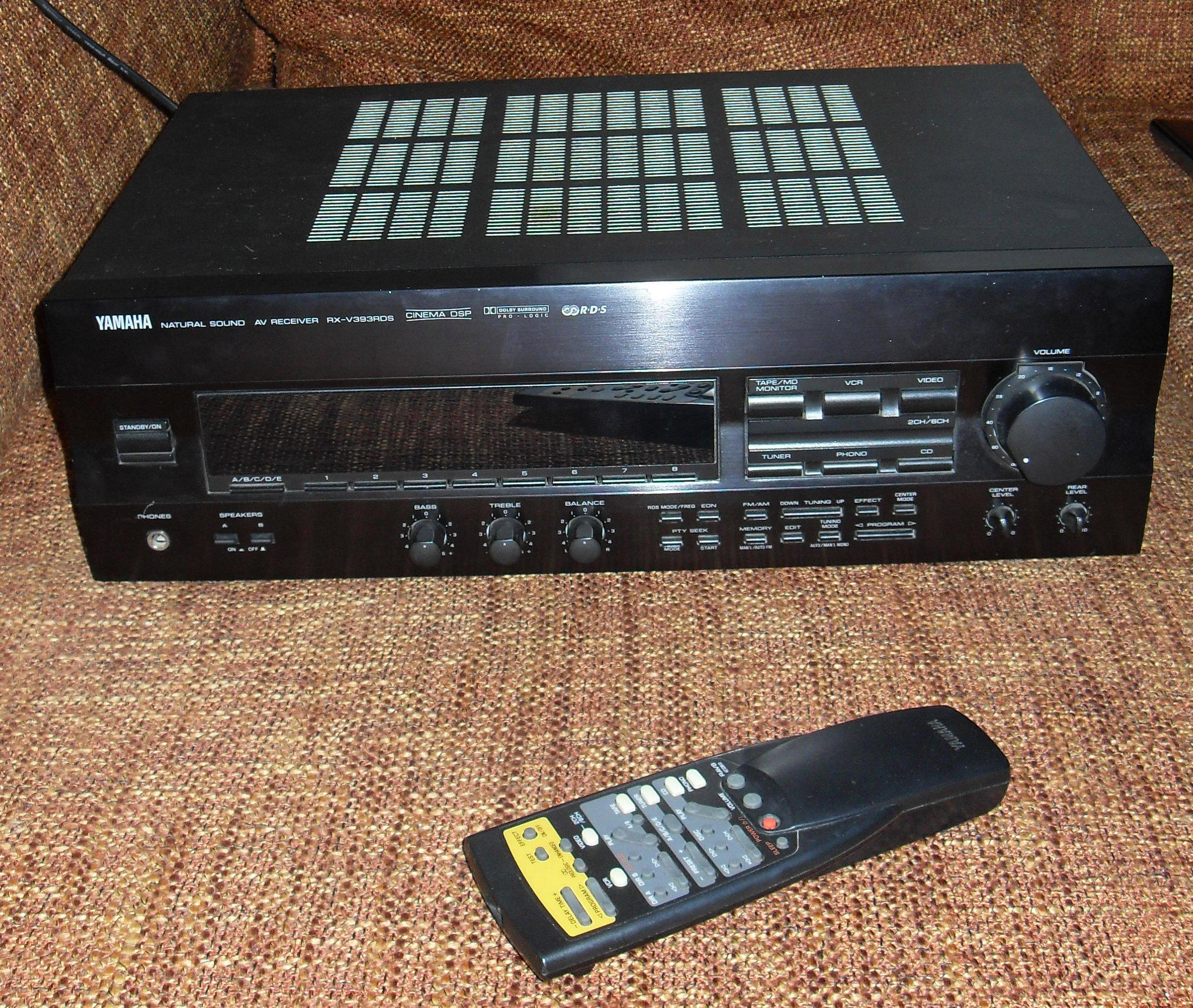 File:Yamaha Receiver RX-V 393 JPG - Wikimedia Commons