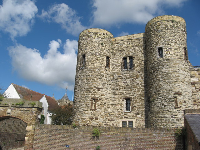 Ypres Tower, Rye, Sussex - geograph.org.uk - 1219127
