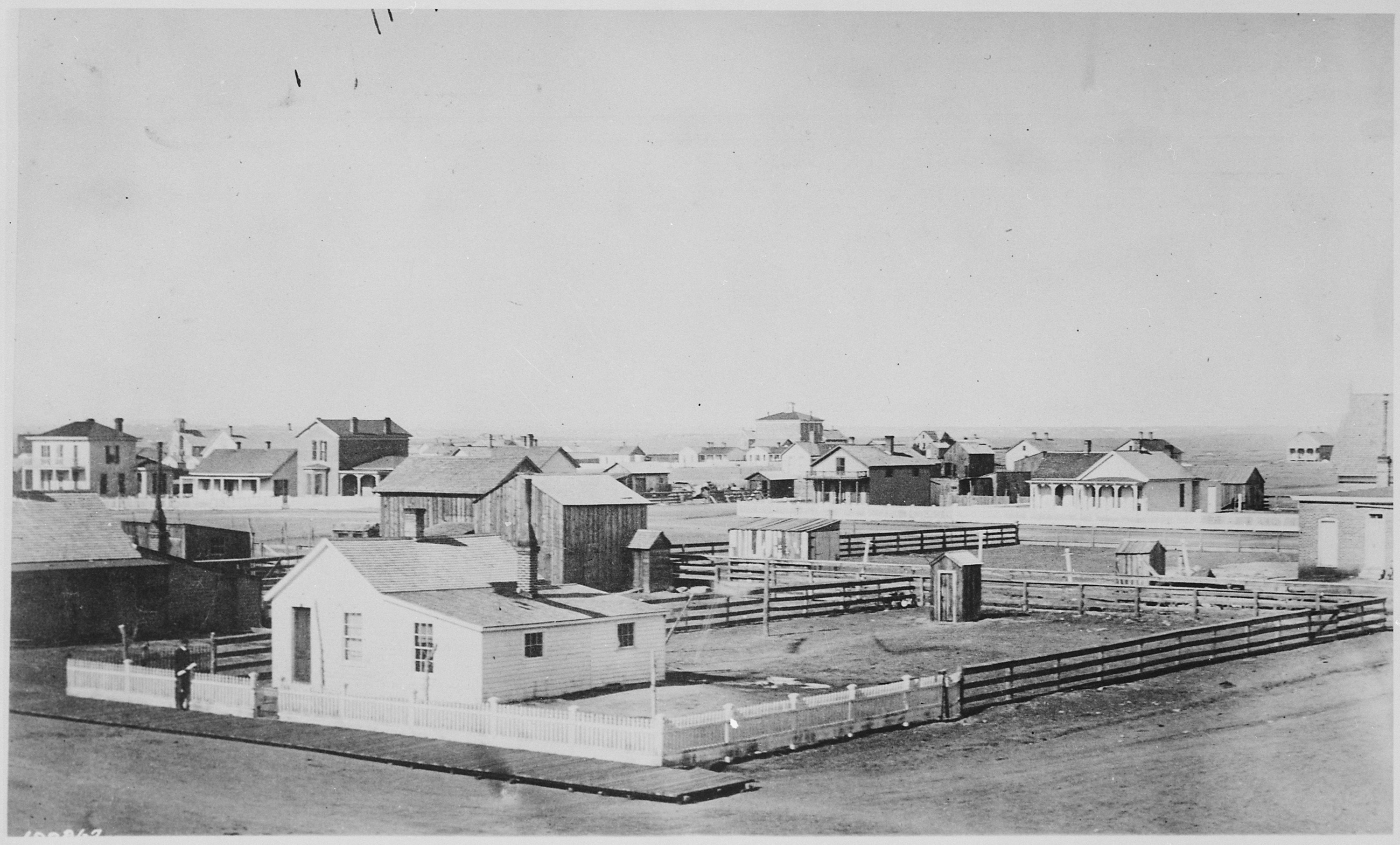 File Quot Cheyenne Wyo 1876 Quot General View Of This Town On