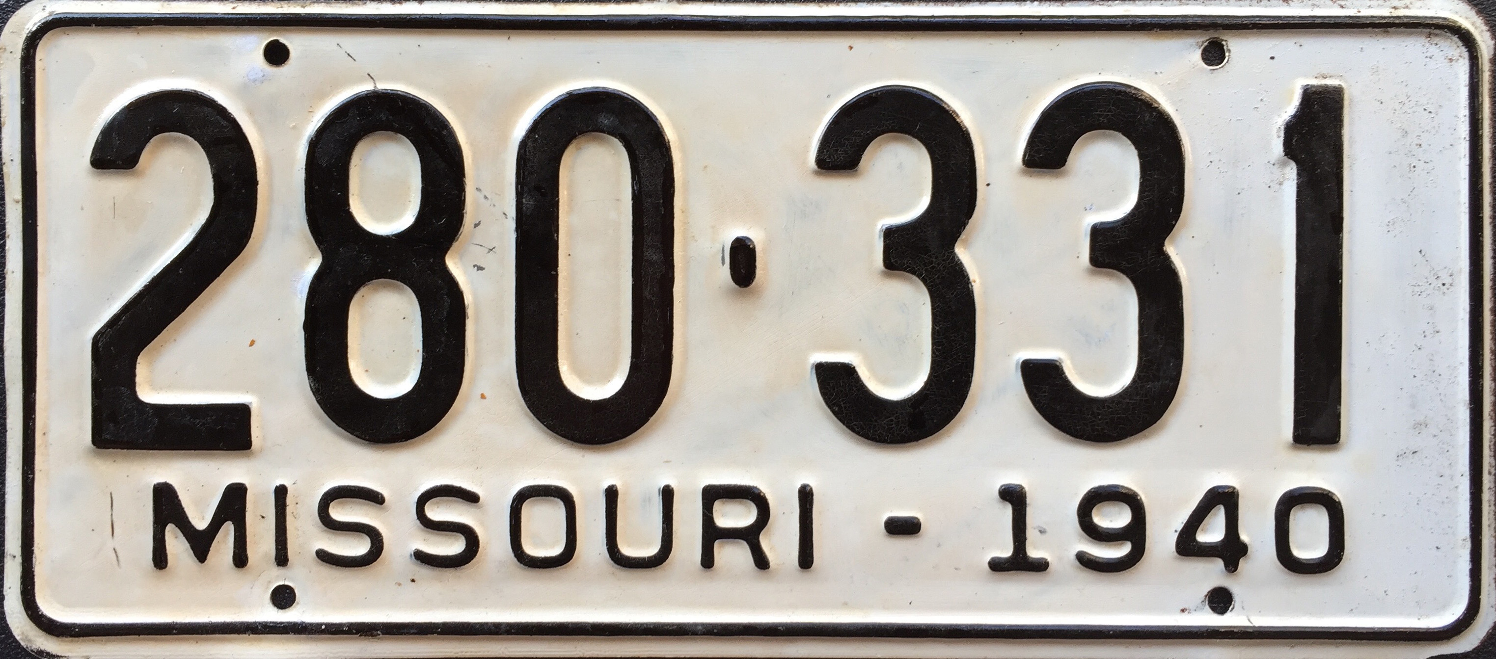 Missouri License Plate Renewal Online Property Tax Not Found
