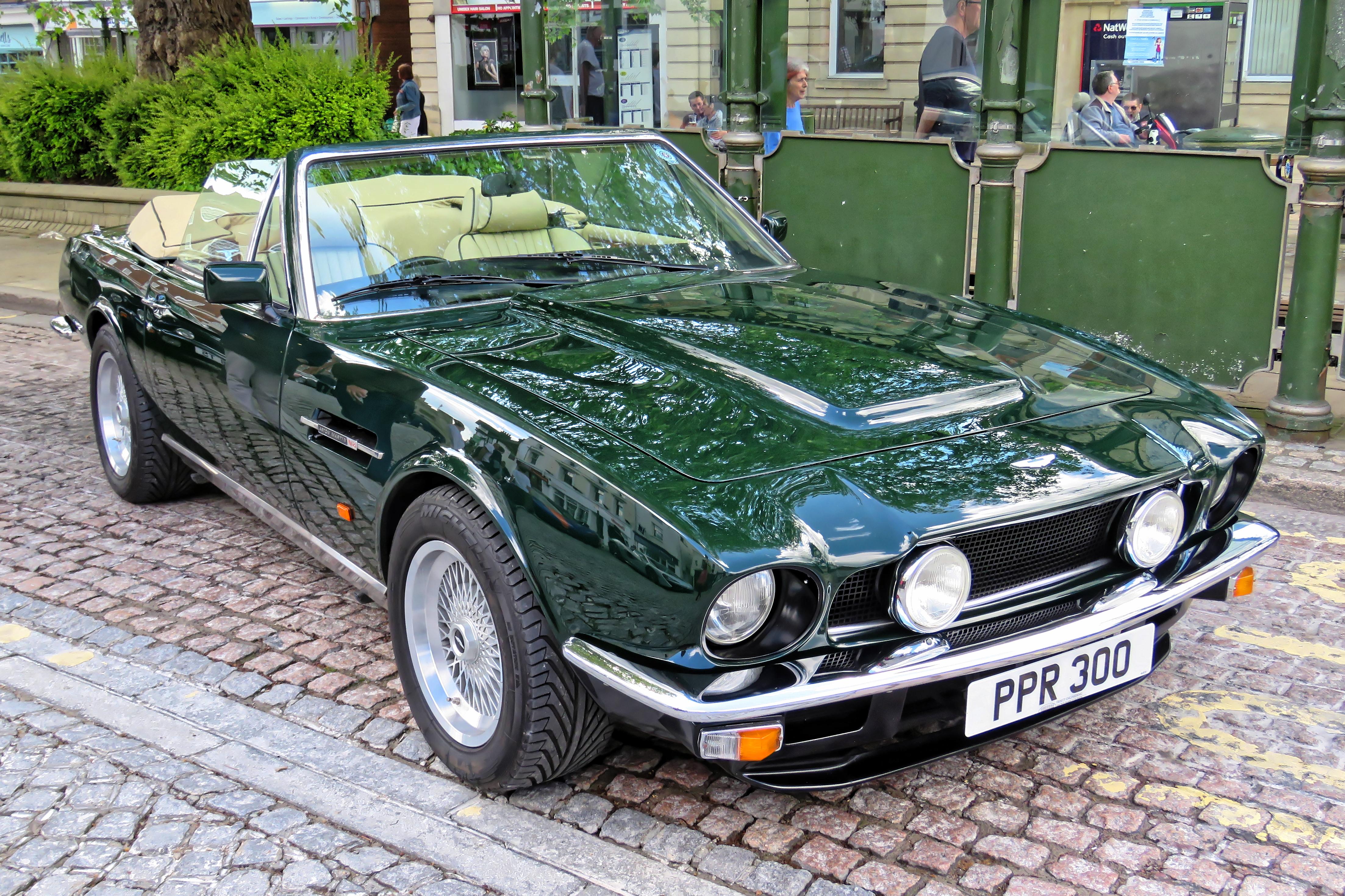 File 1984 Aston Martin V8 Volante At Horsham English Festival 2018 A Jpg Wikimedia Commons