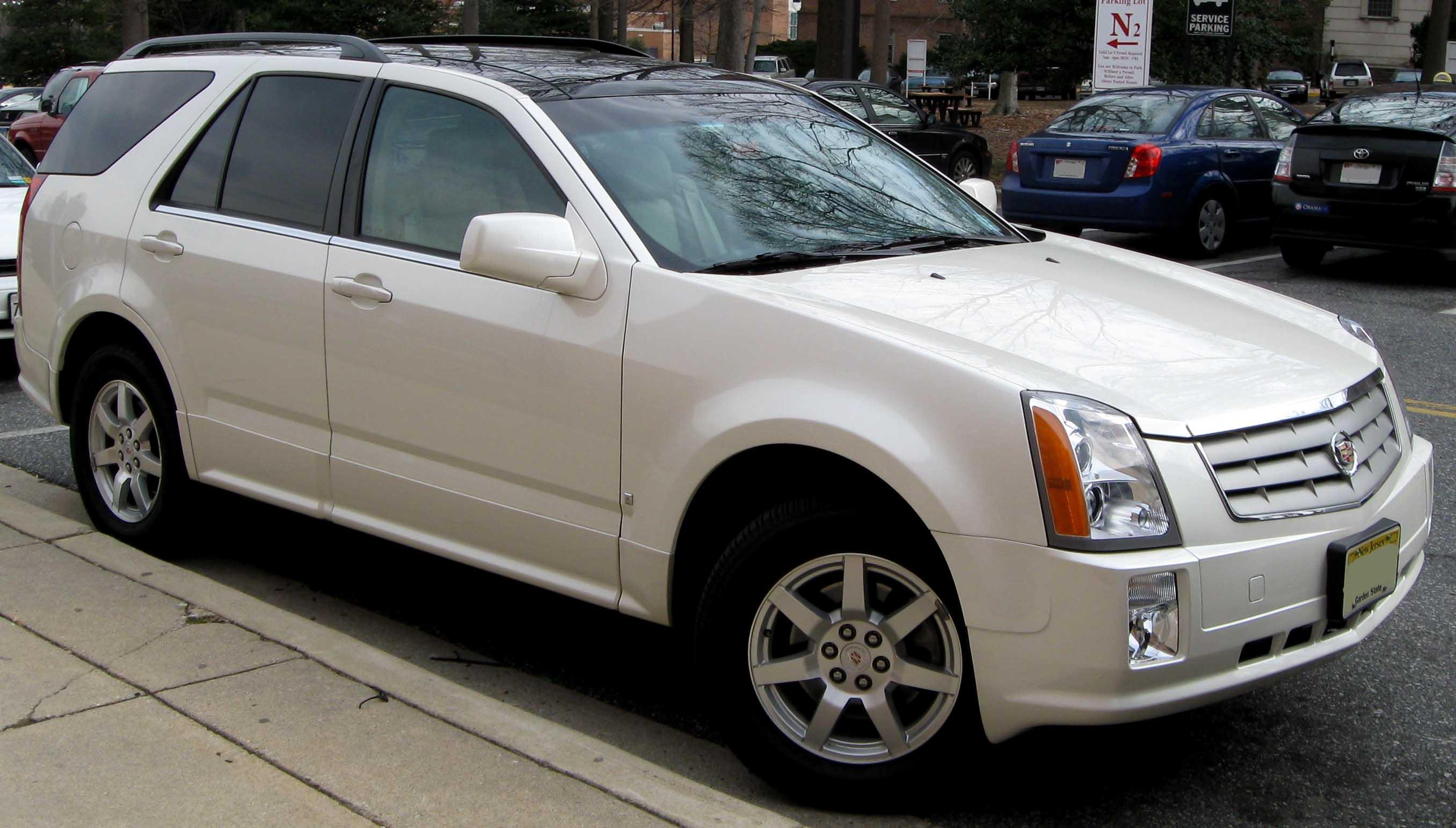 File 1st Cadillac Srx Jpg Wikimedia Commons