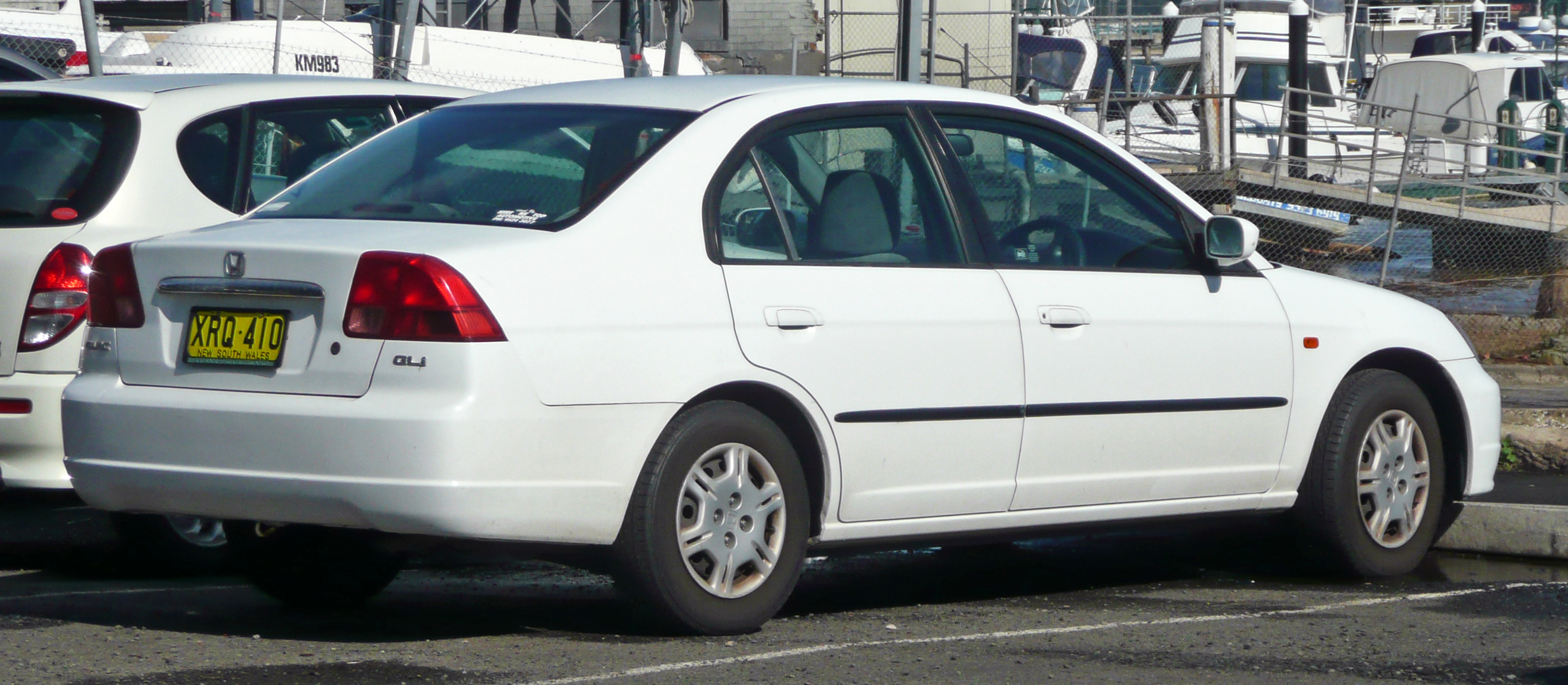 File20002002 Honda Civic GLi sedan 01jpg  Wikimedia Commons