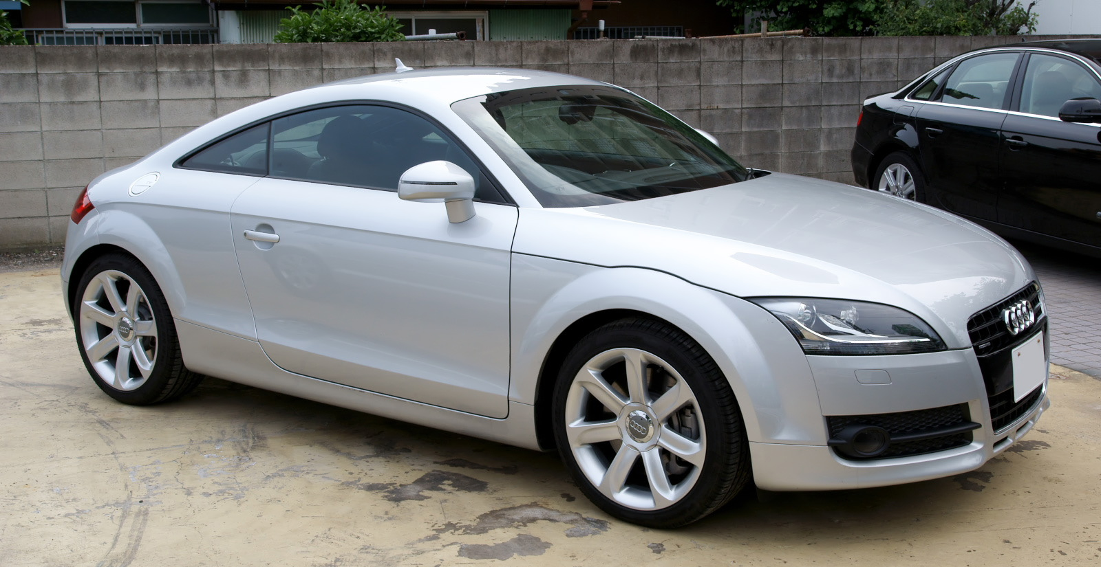 File 2007 Audi Tt Coupe Jpg Wikimedia Commons