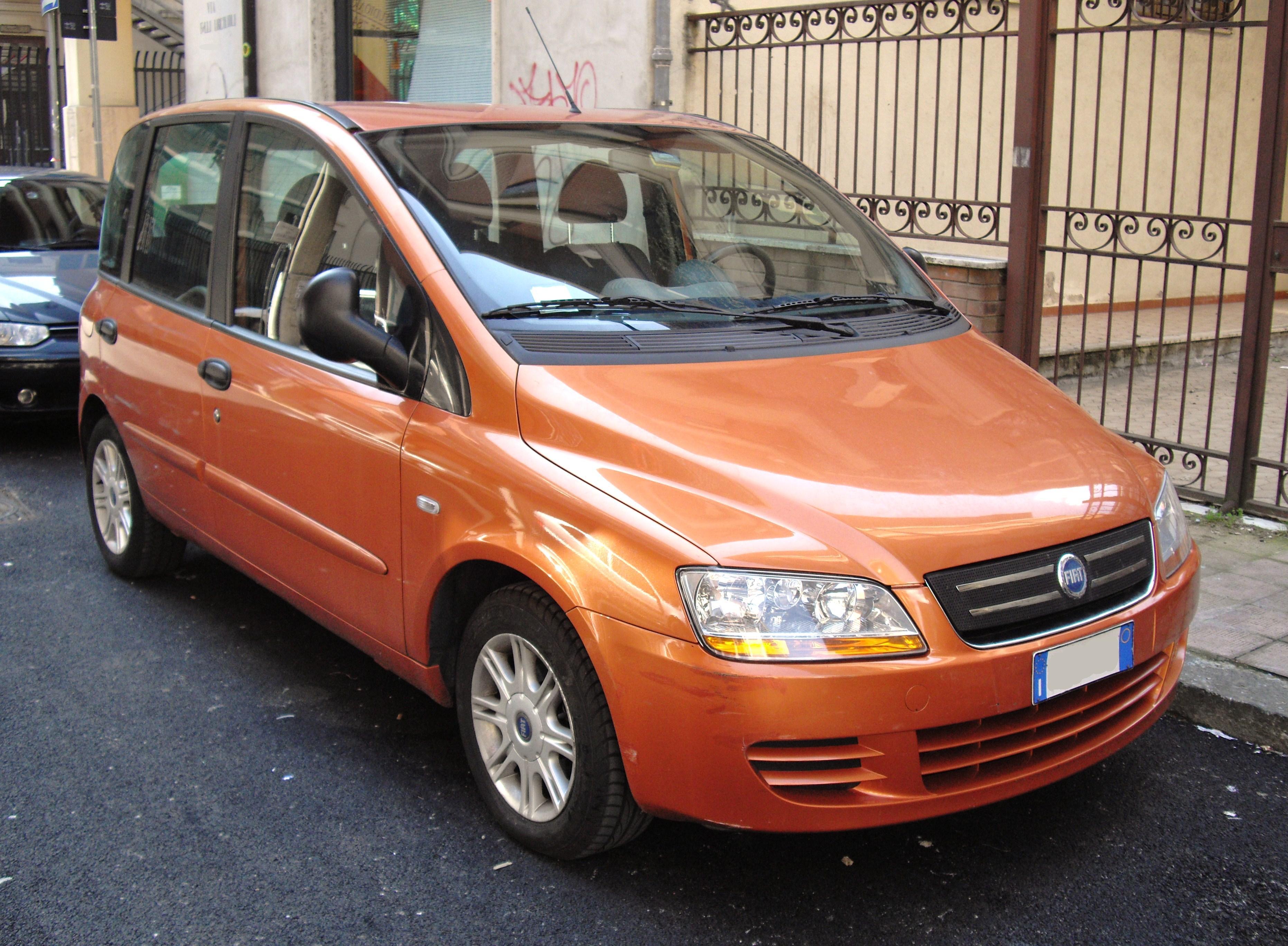 2004–10 Fiat Multipla facelift (front)