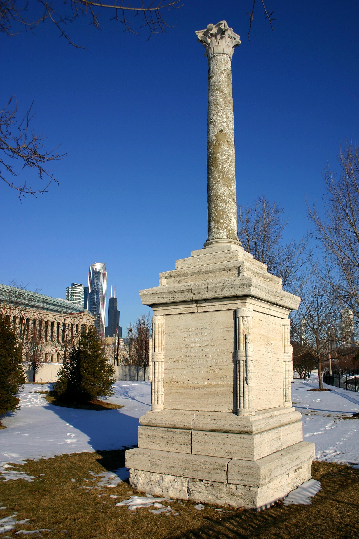 Historic Lincoln Park Chicago Snow Globe