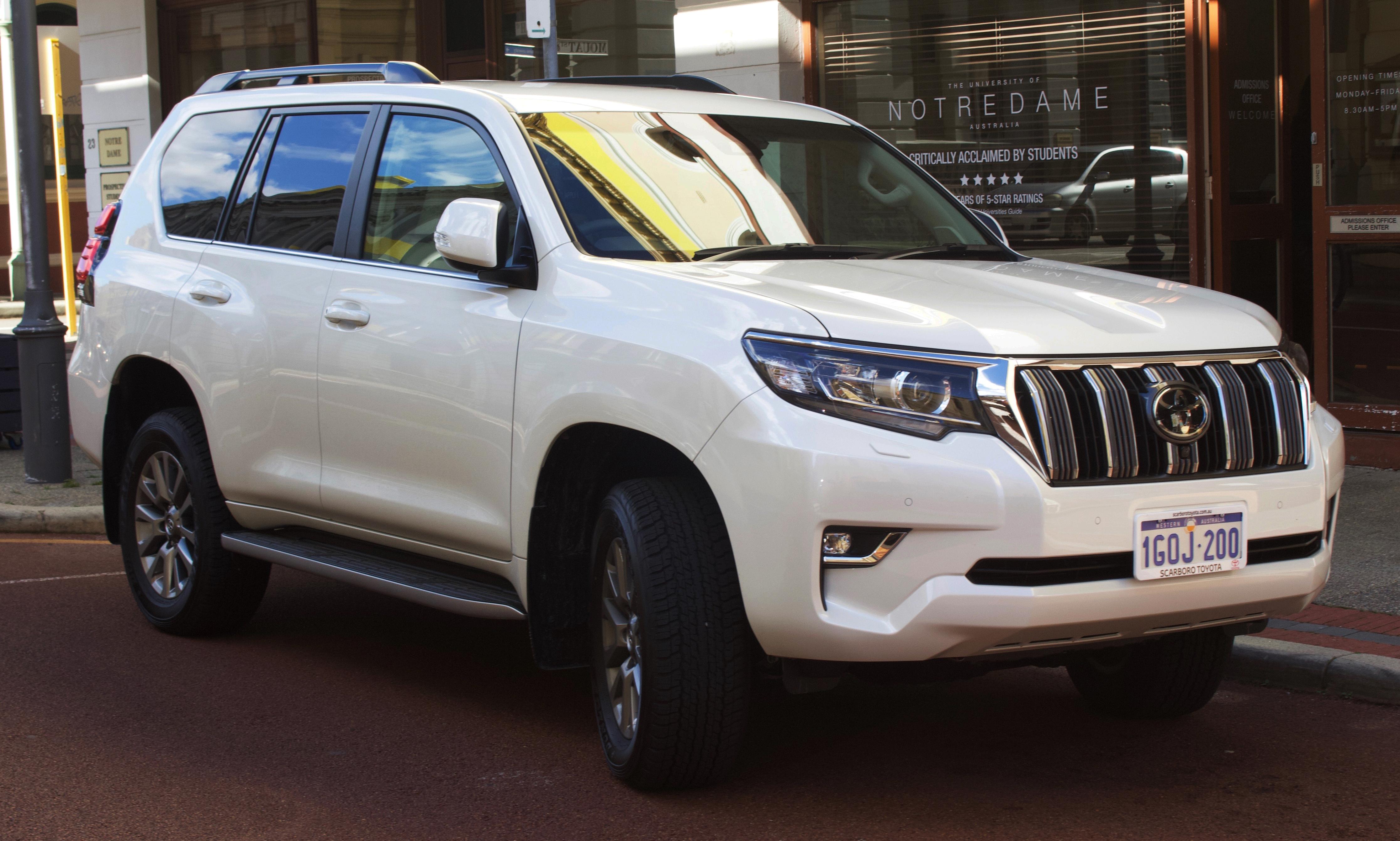 File:2018 Toyota Land Cruiser Prado (GDJ150R) VX 4WD Wagon (2018