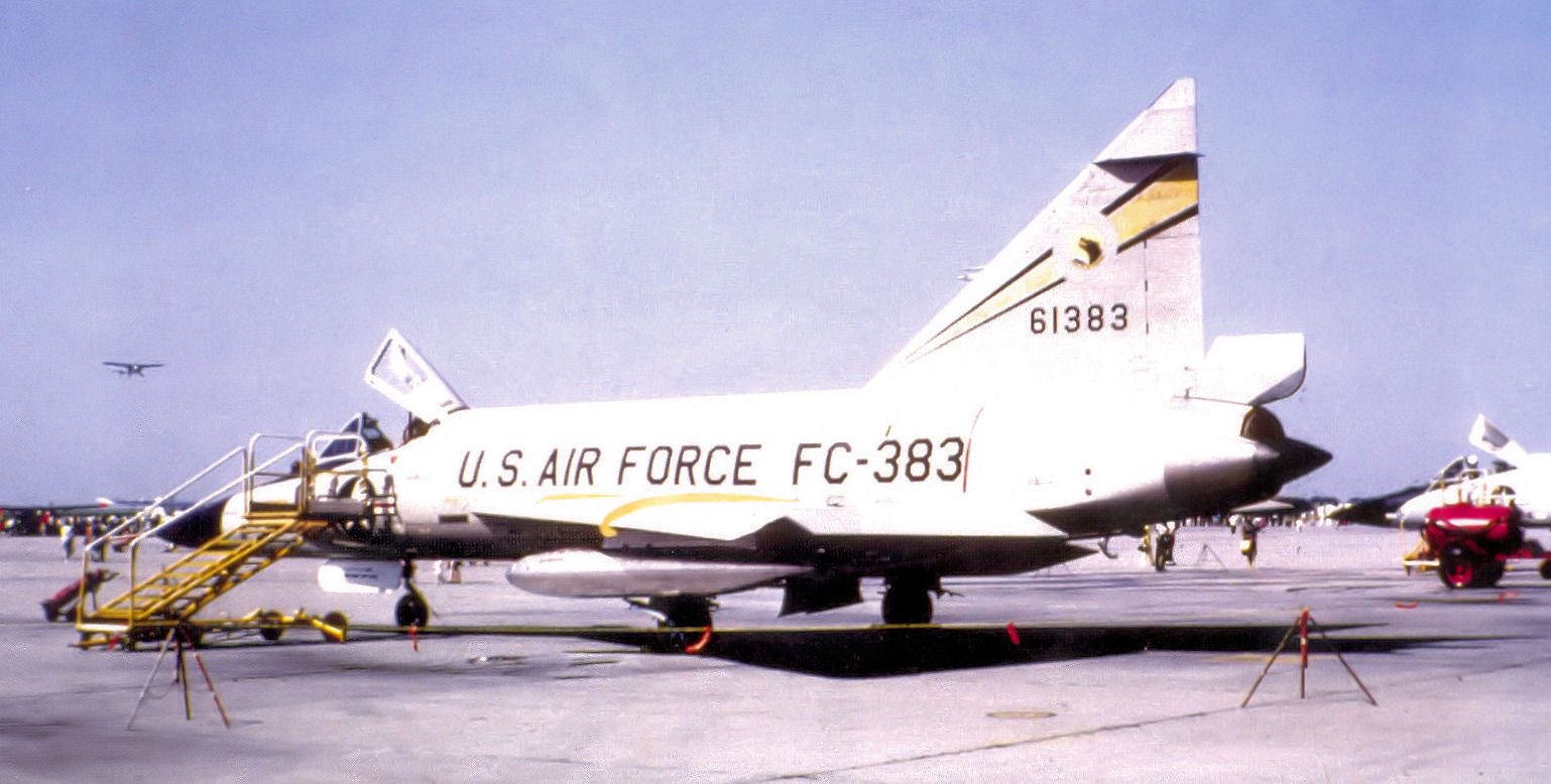 File:326th Fighter-Interceptor Squadron Convair F-102A-75-CO Delta