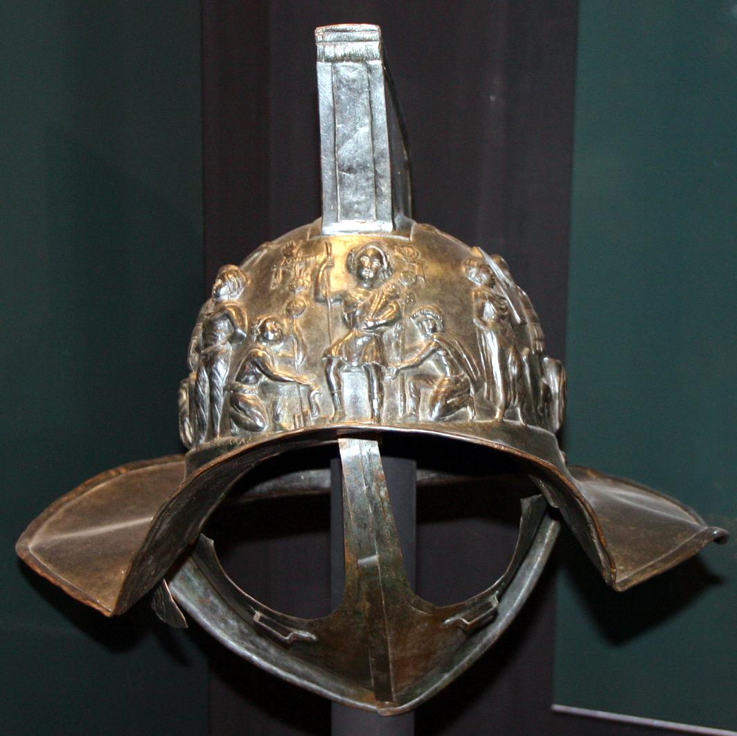 Ogre Bodyguard GLADIATOR Style 4166_-_Milano_-_Antiquarium_-_Replica_elmo_gladiatore_-_Foto_Giovanni_Dall%27Orto_-_14-July-2007_-_1