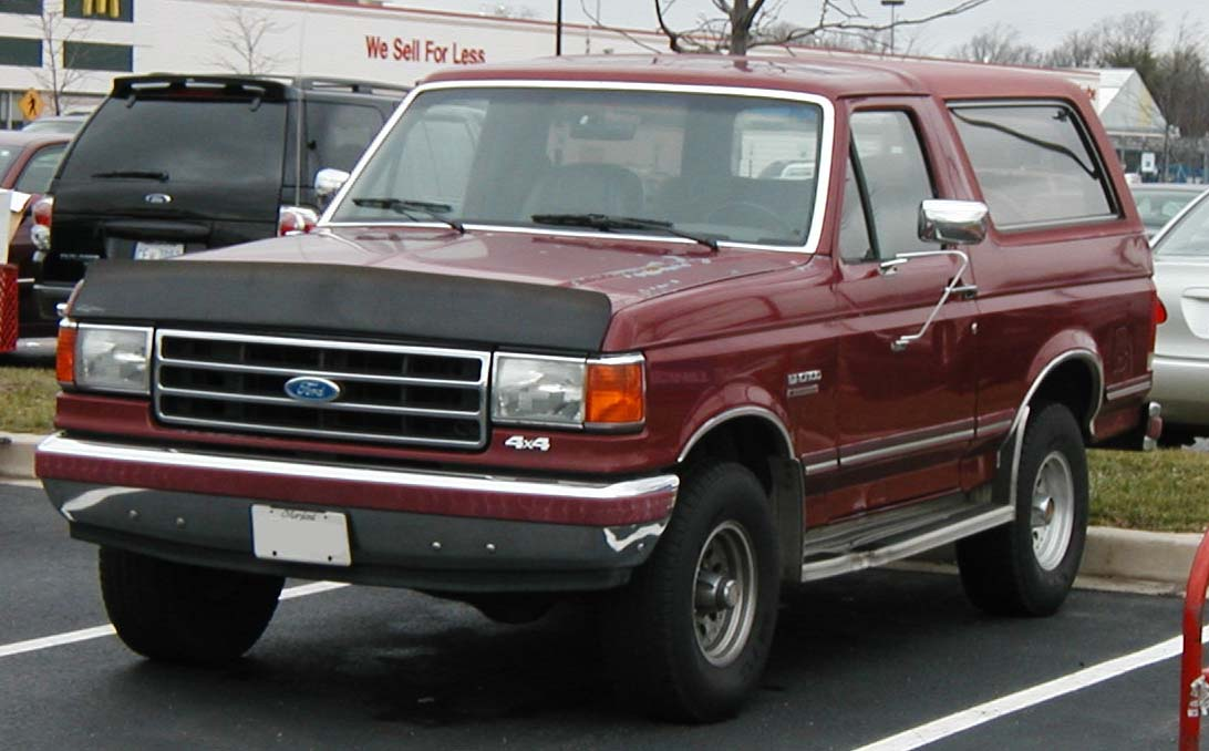 Bronco Release Date >> File:87-91 Ford Bronco.jpg - Wikimedia Commons