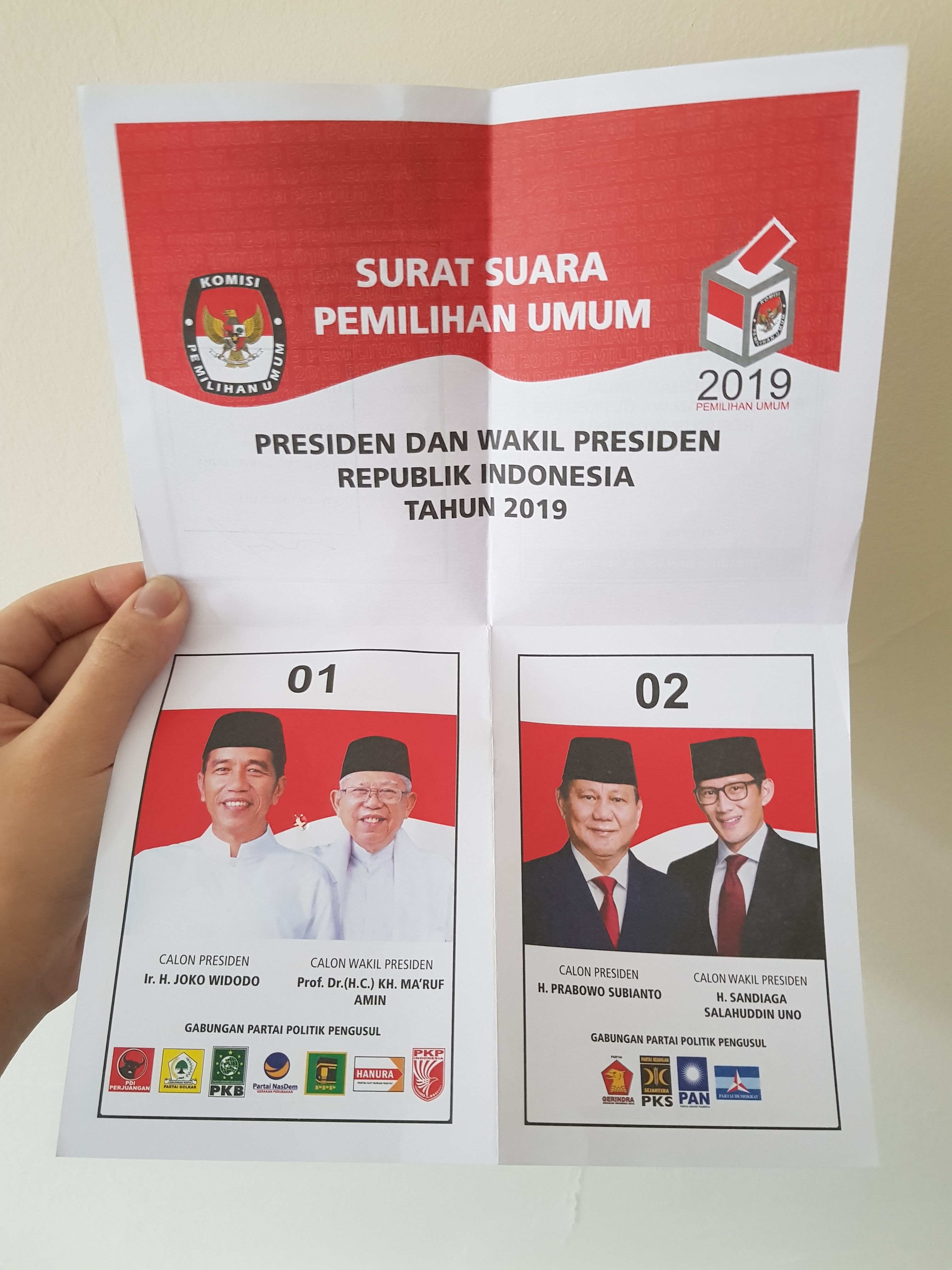 2019 indonesian general election